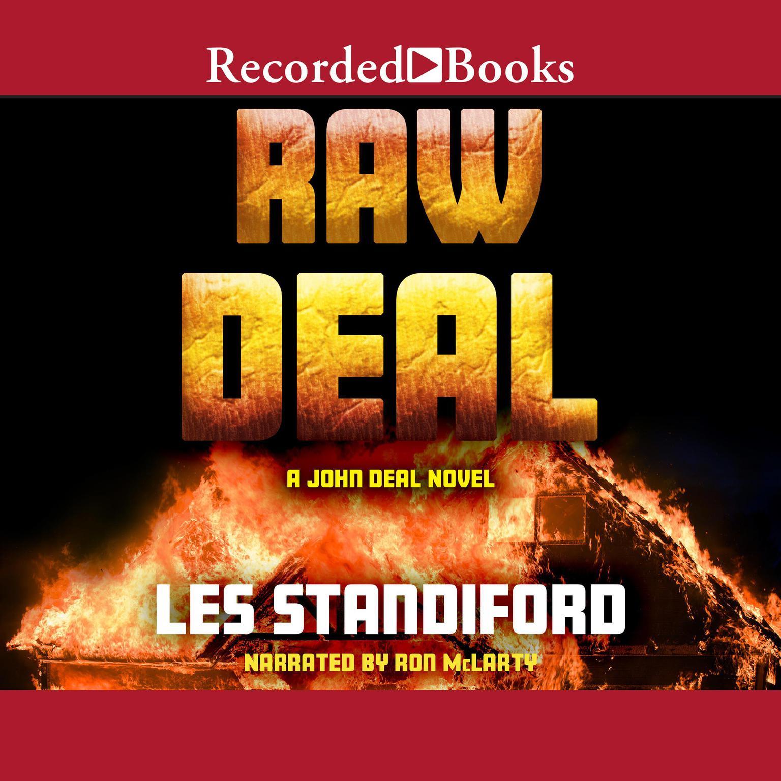Printable Raw Deal Audiobook Cover Art