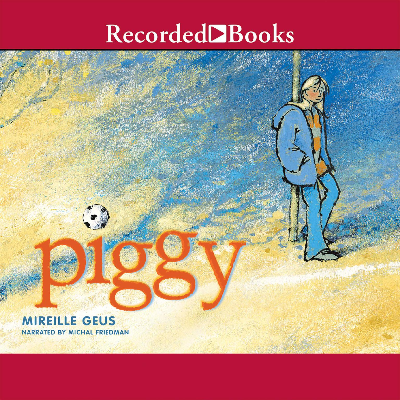 Printable Piggy Audiobook Cover Art