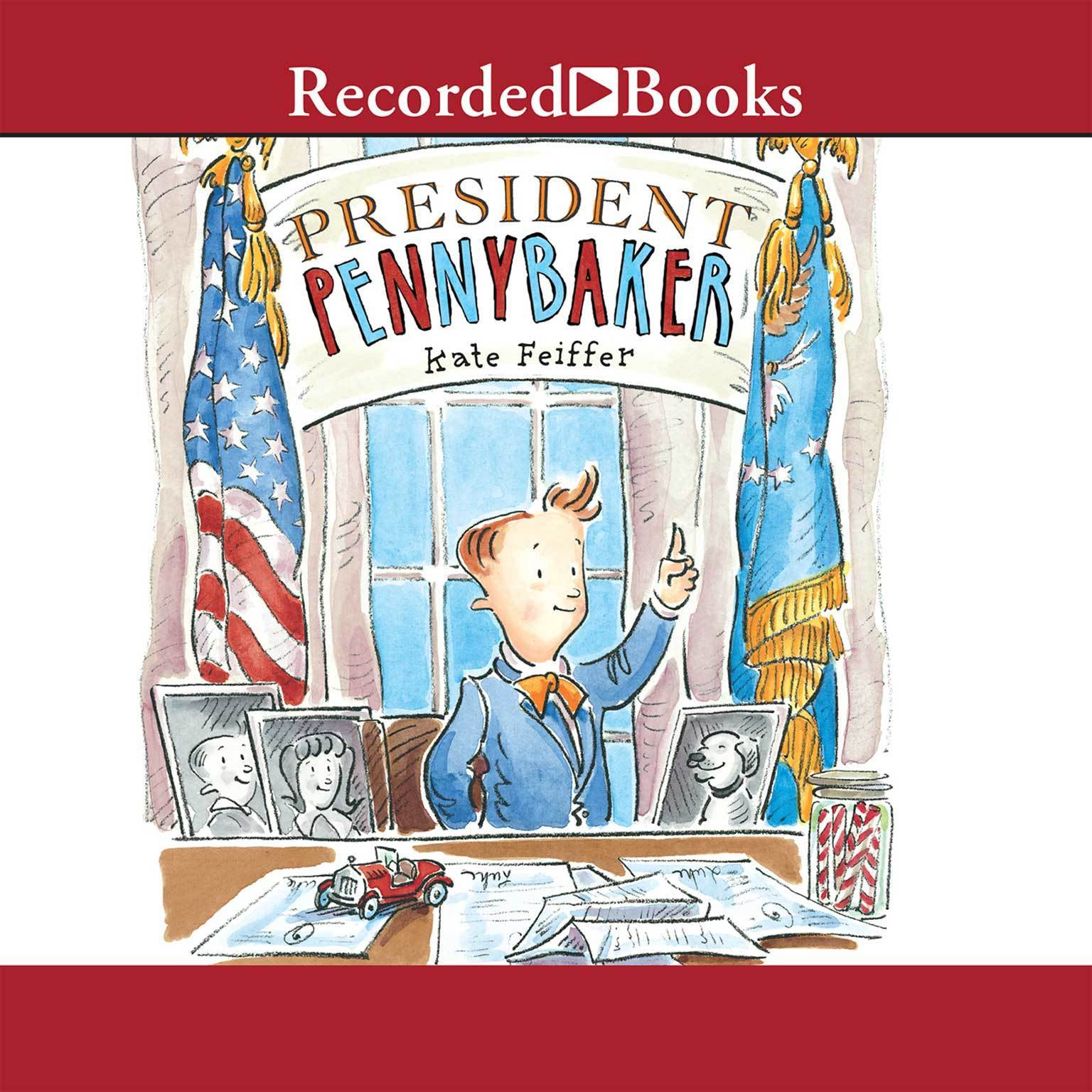 Printable President Pennybaker Audiobook Cover Art