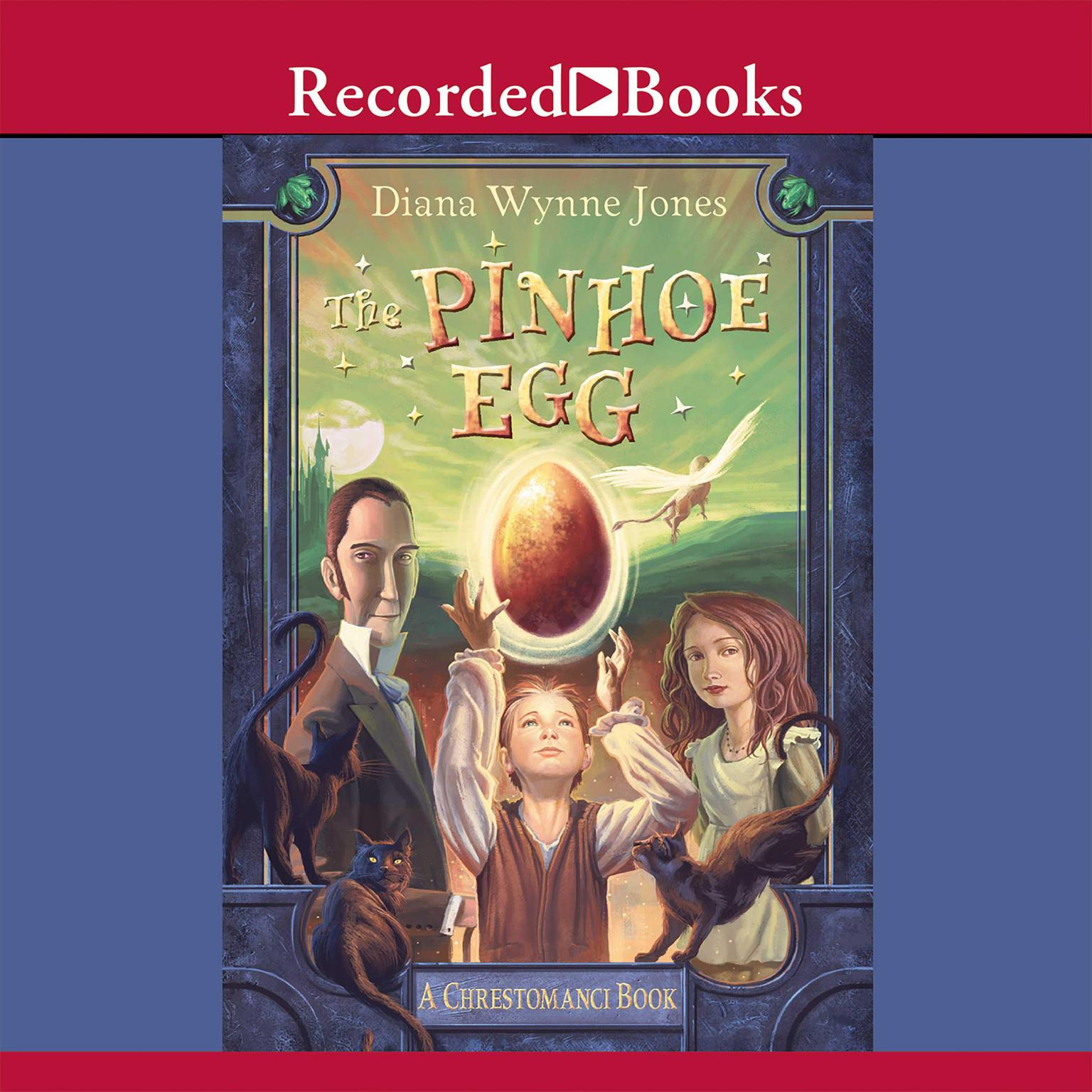 Printable The Pinhoe Egg Audiobook Cover Art