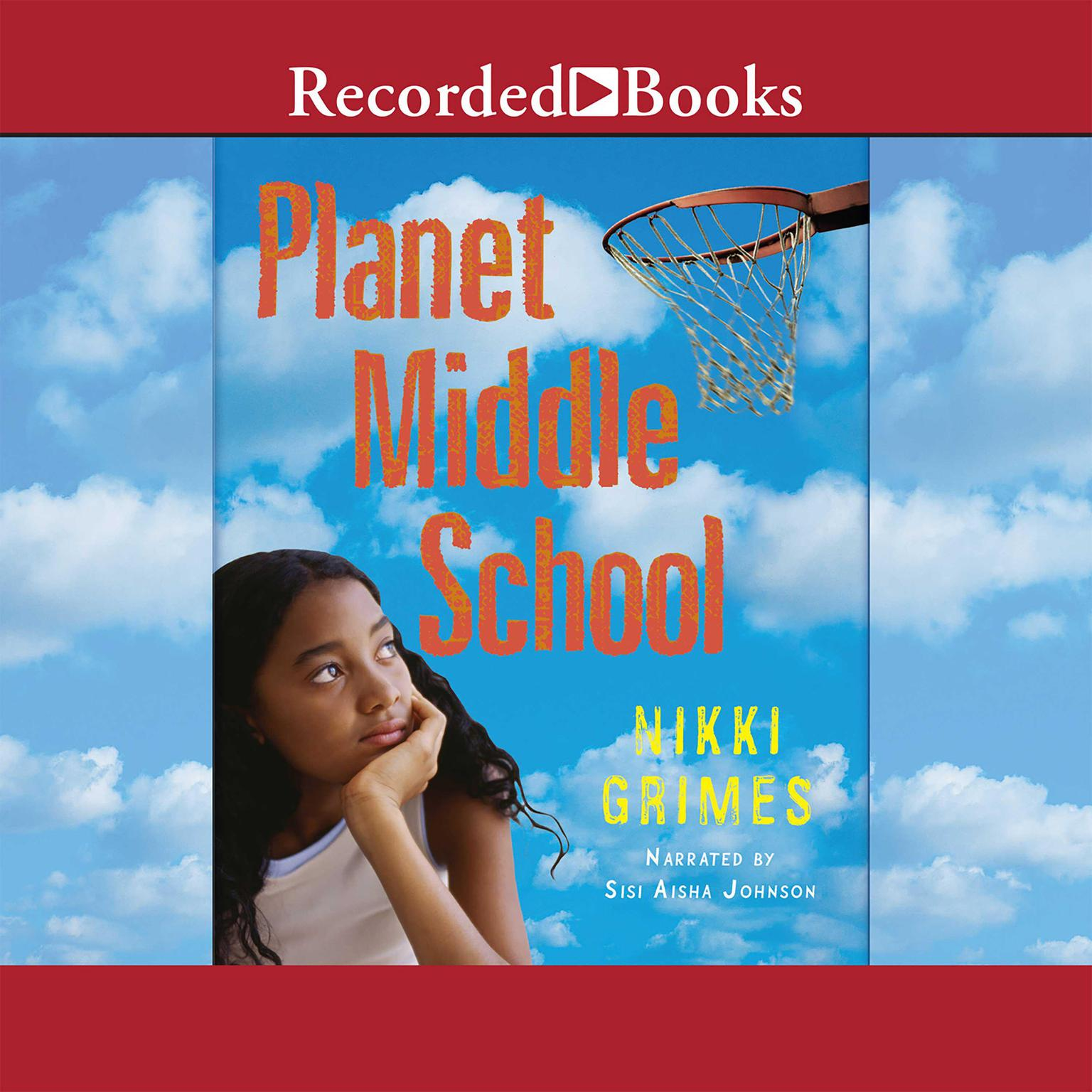 Printable Planet Middle School Audiobook Cover Art