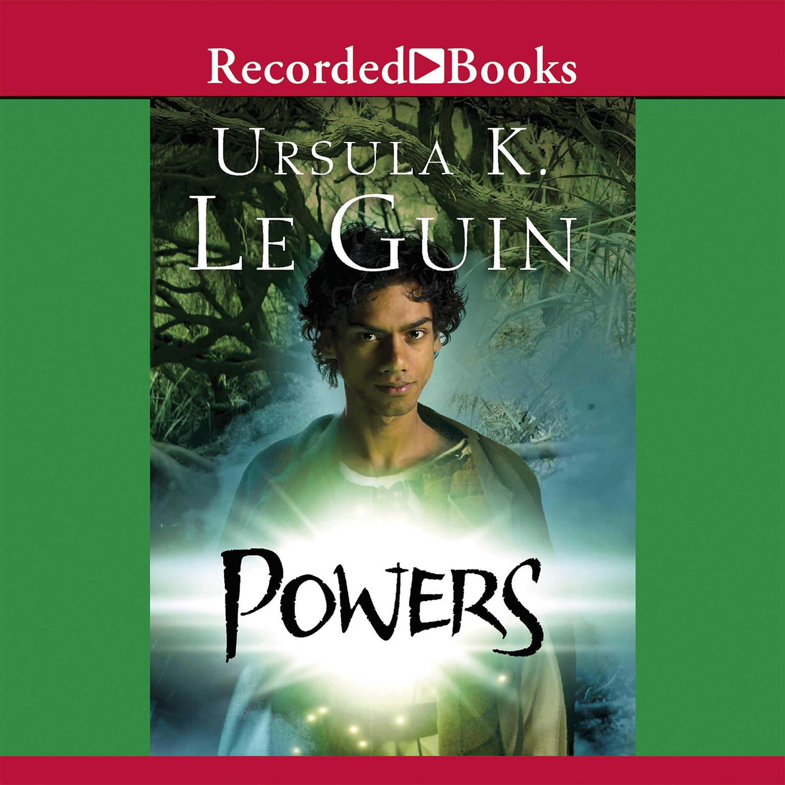 Printable Powers Audiobook Cover Art