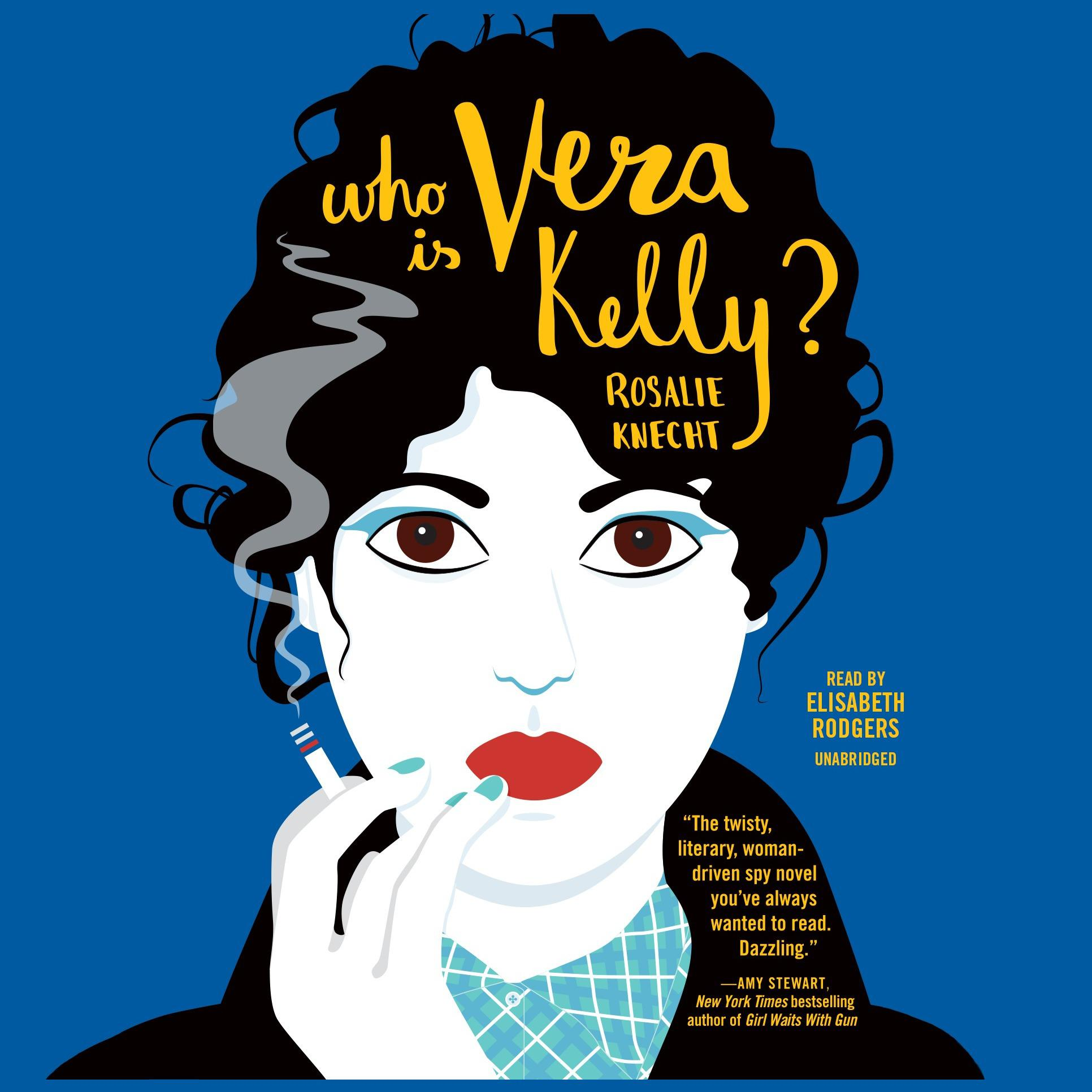 Printable Who Is Vera Kelly? Audiobook Cover Art