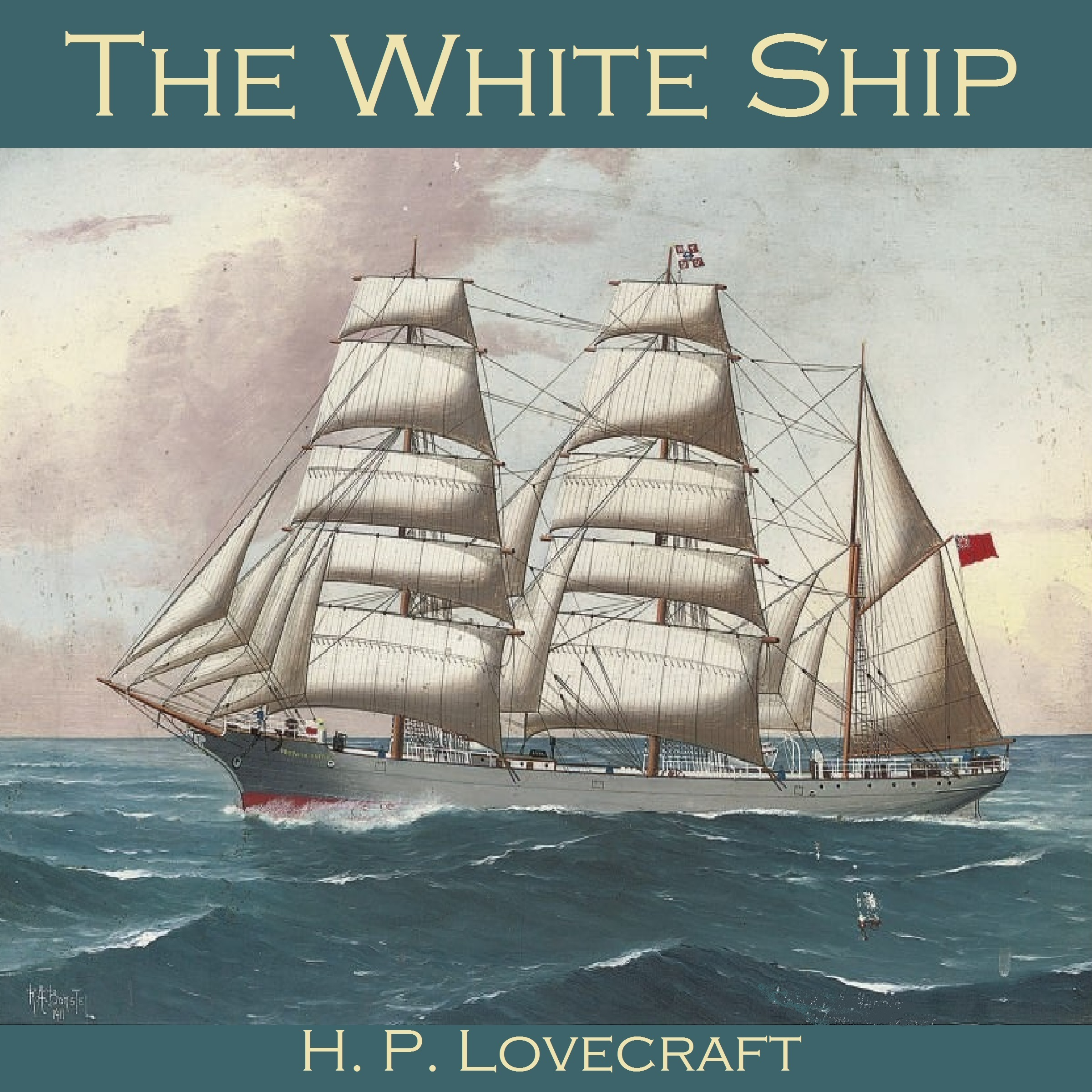 Printable The White Ship Audiobook Cover Art