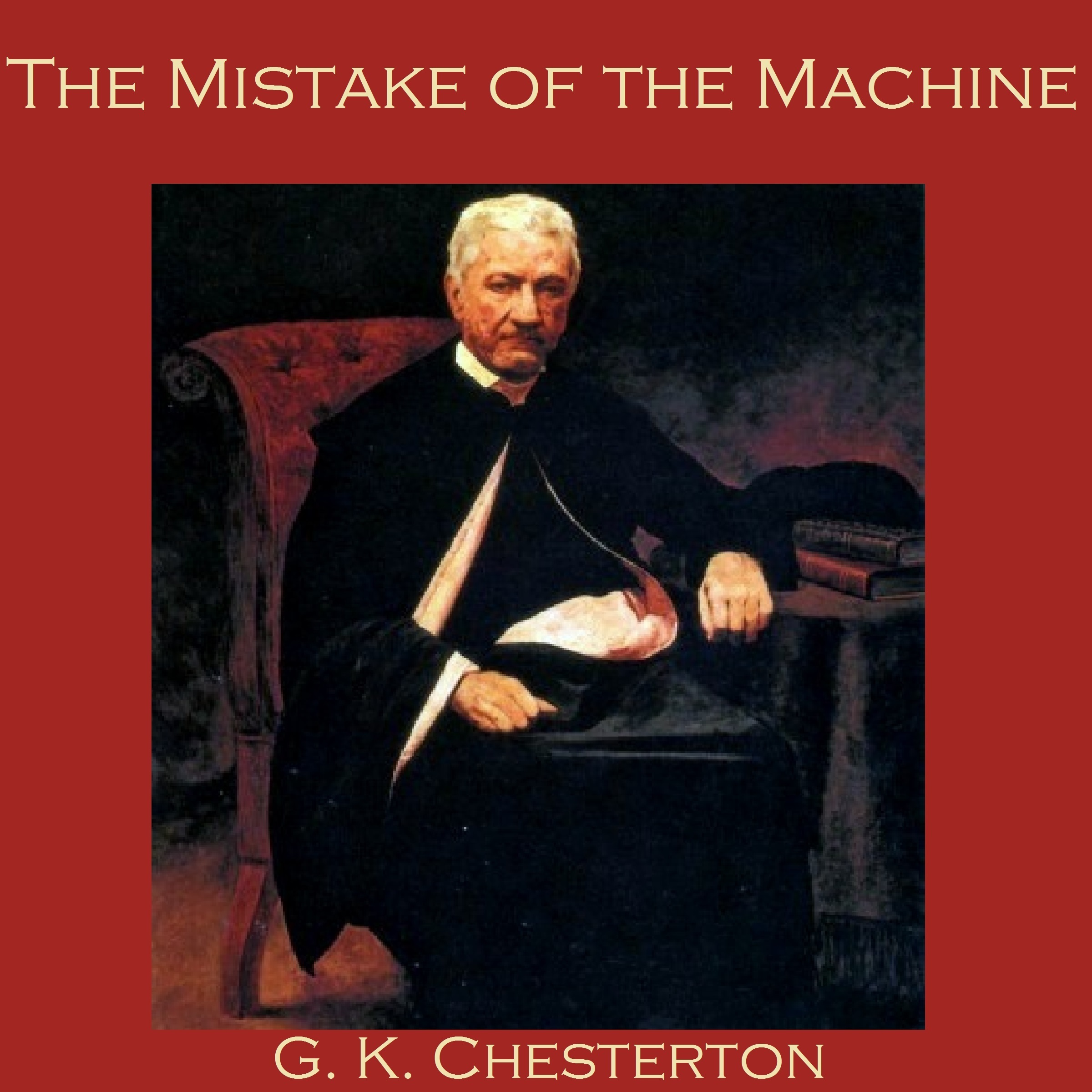 Printable The Mistake of the Machine Audiobook Cover Art