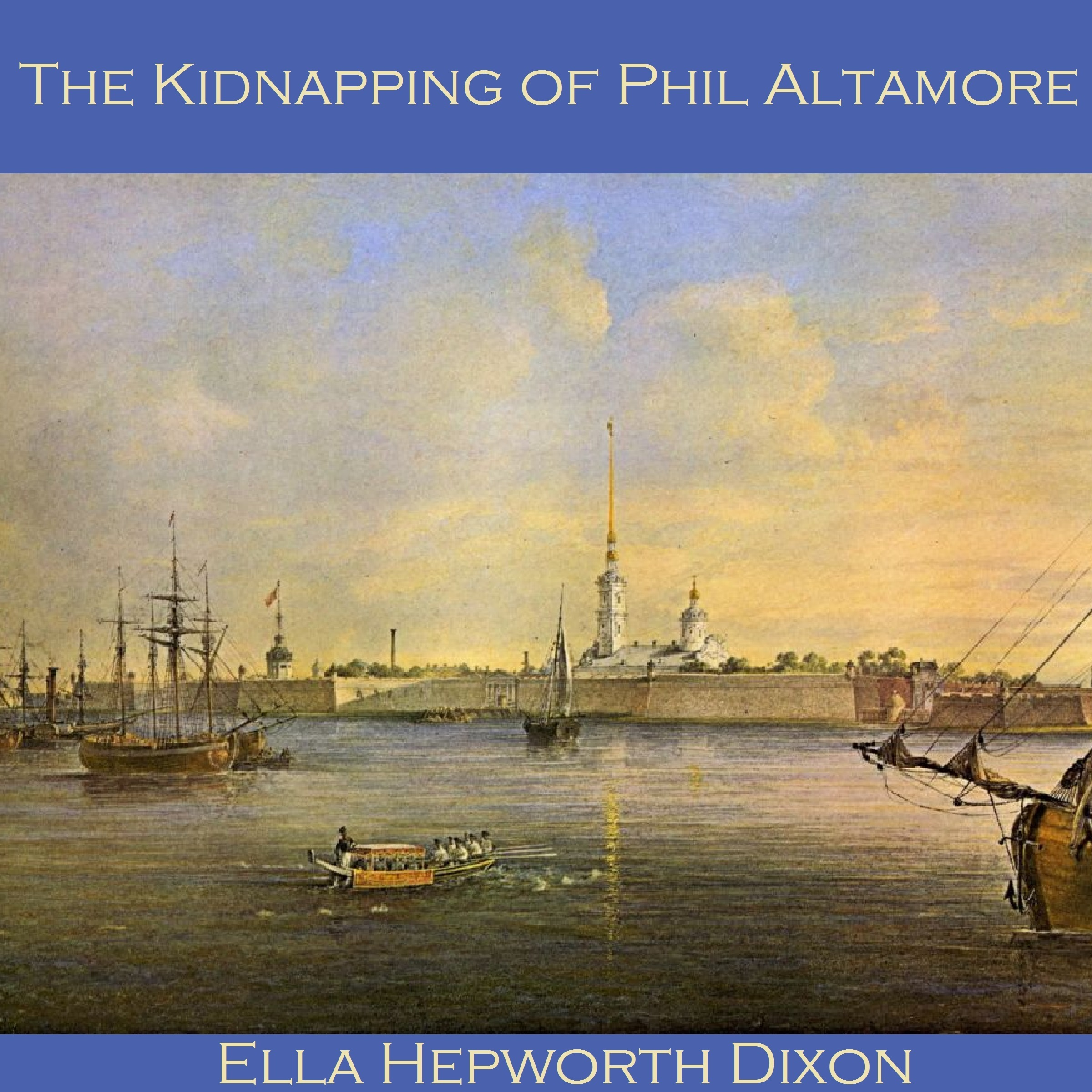 Printable The Kidnapping of Phil Altamore Audiobook Cover Art