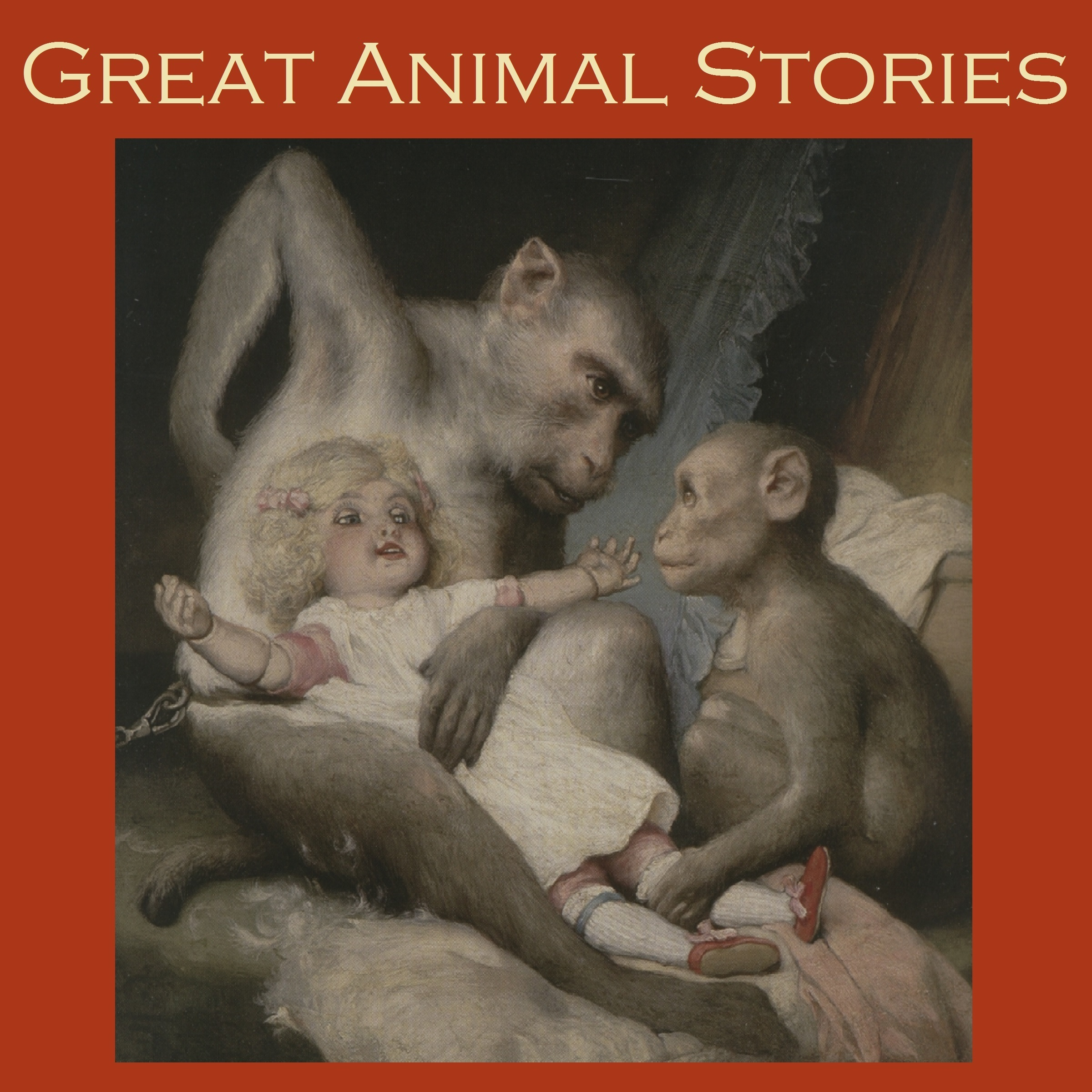 Printable Great Animal Stories Audiobook Cover Art