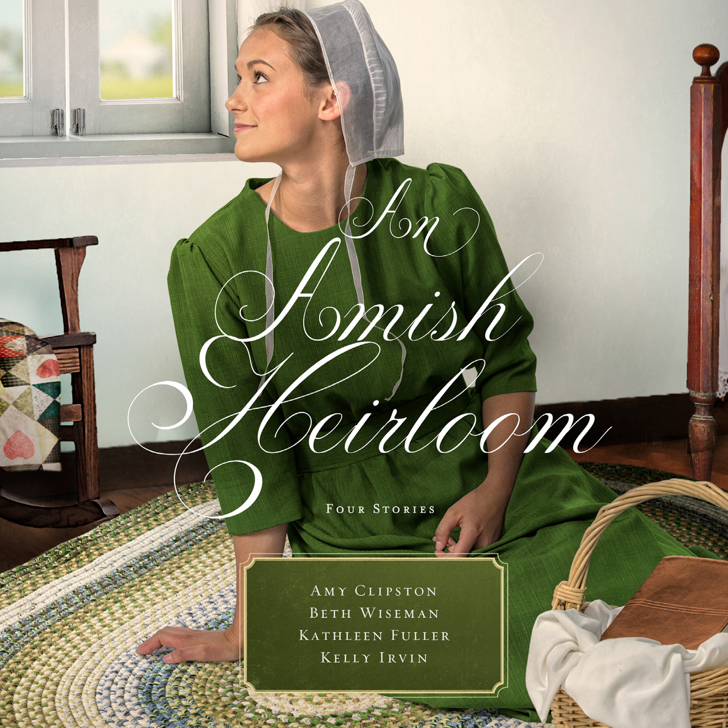Printable An Amish Heirloom: A Legacy of Love, The Cedar Chest, The Treasured Book, a Midwife's Dream Audiobook Cover Art