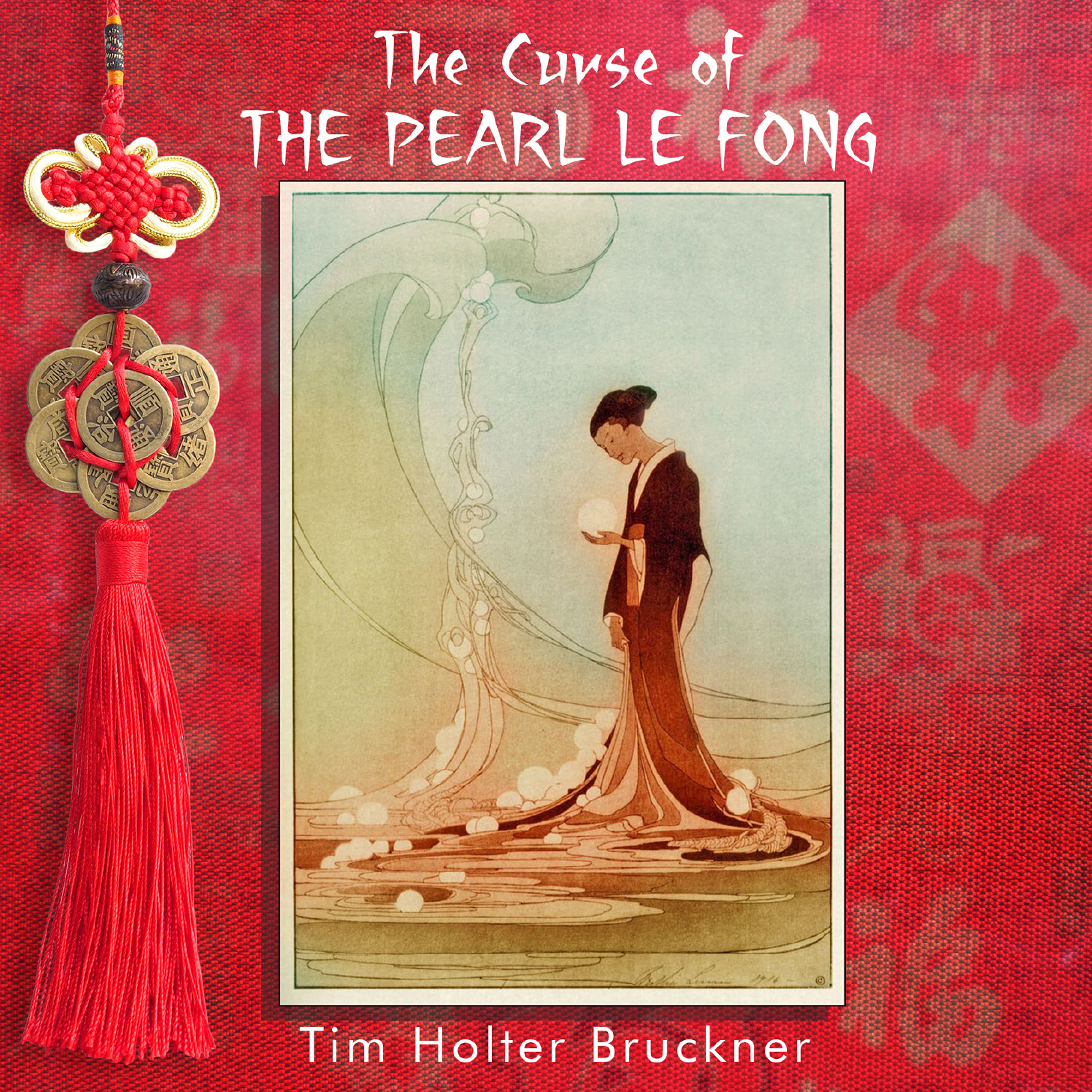 Printable The Curse of the Pearl Le Fong Audiobook Cover Art