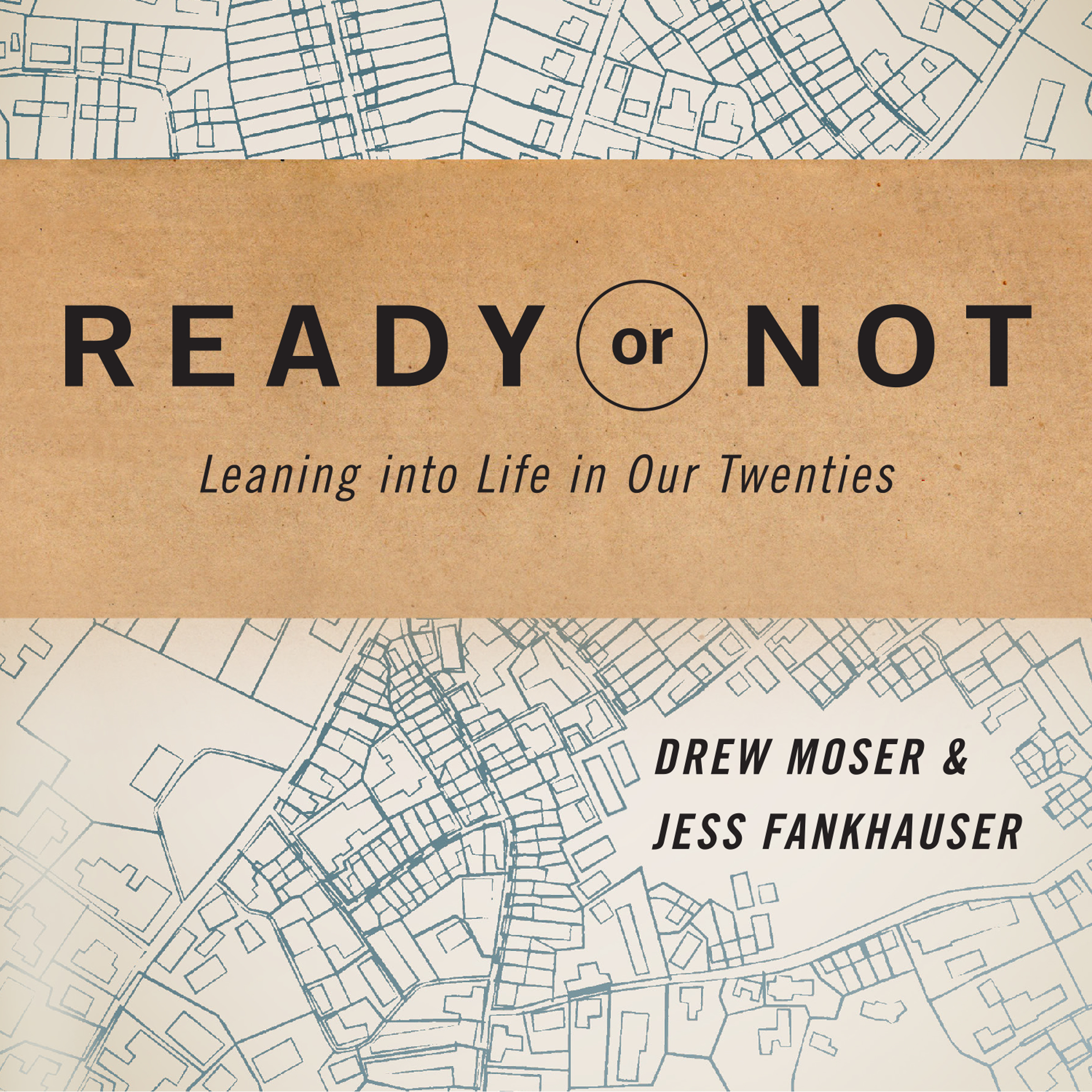 Printable Ready or Not: Leaning Into Life in Our Twenties Audiobook Cover Art