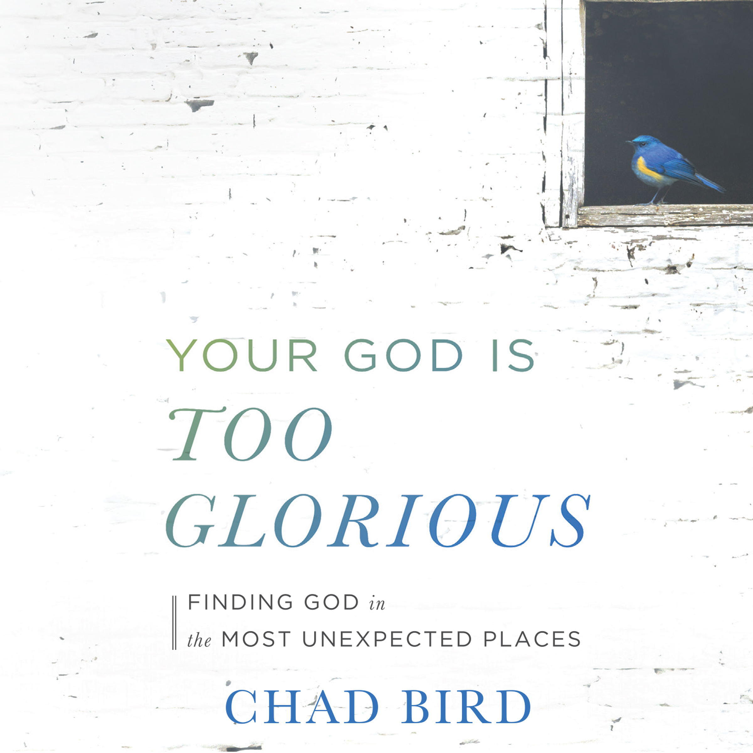 Printable Your God Is Too Glorious: Finding God in the Most Unexpected Places Audiobook Cover Art