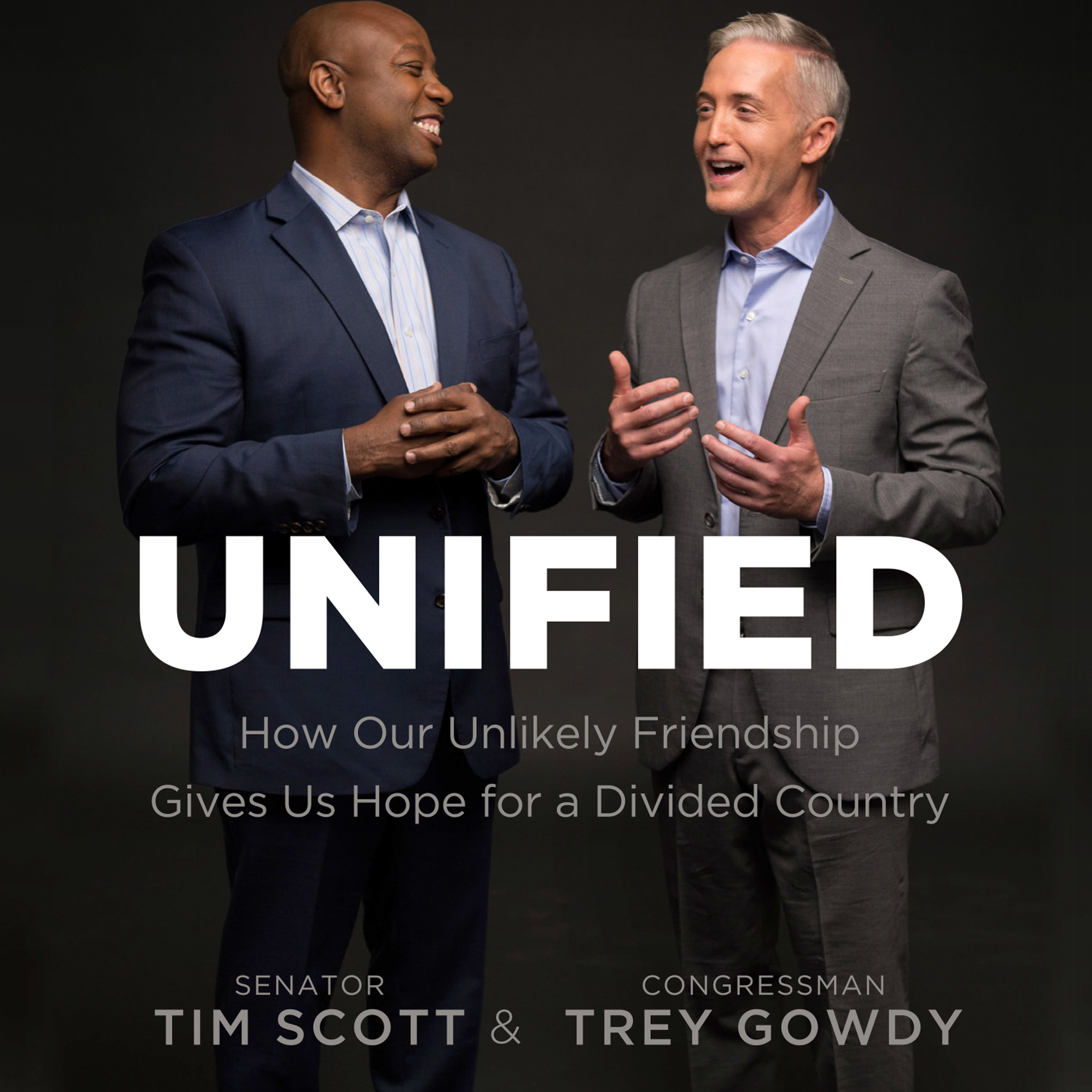 Printable Unified: How Our Unlikely Friendship Gives Us Hope for a Divided Country Audiobook Cover Art