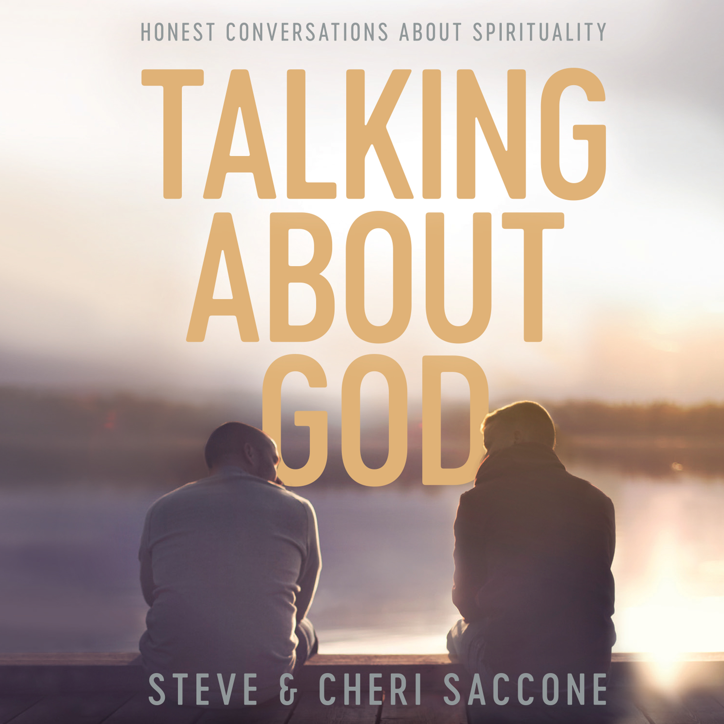 Printable Talking About God: Honest Conversations About Spirituality Audiobook Cover Art