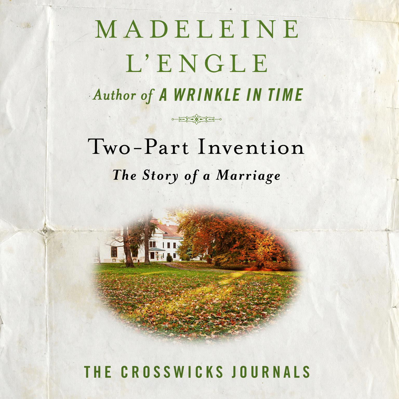 Printable Two-Part Invention: The Story of a Marriage Audiobook Cover Art