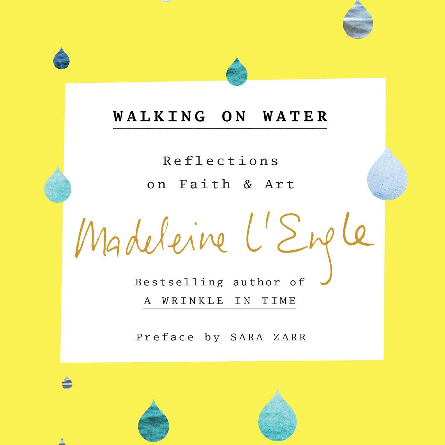 Printable Walking on Water: Reflections on Faith and Art Audiobook Cover Art