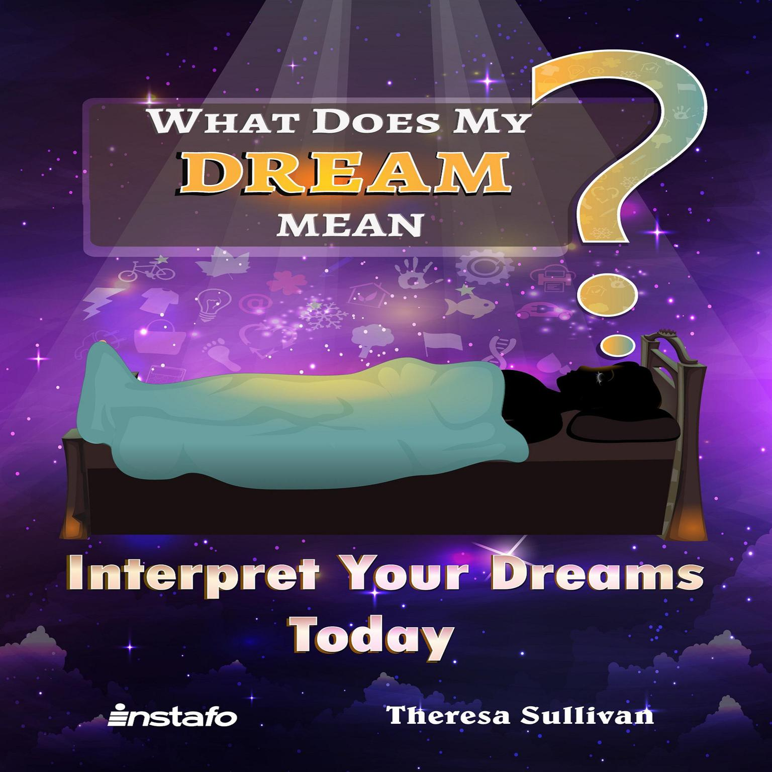 Printable What Does My Dream Mean? Audiobook Cover Art