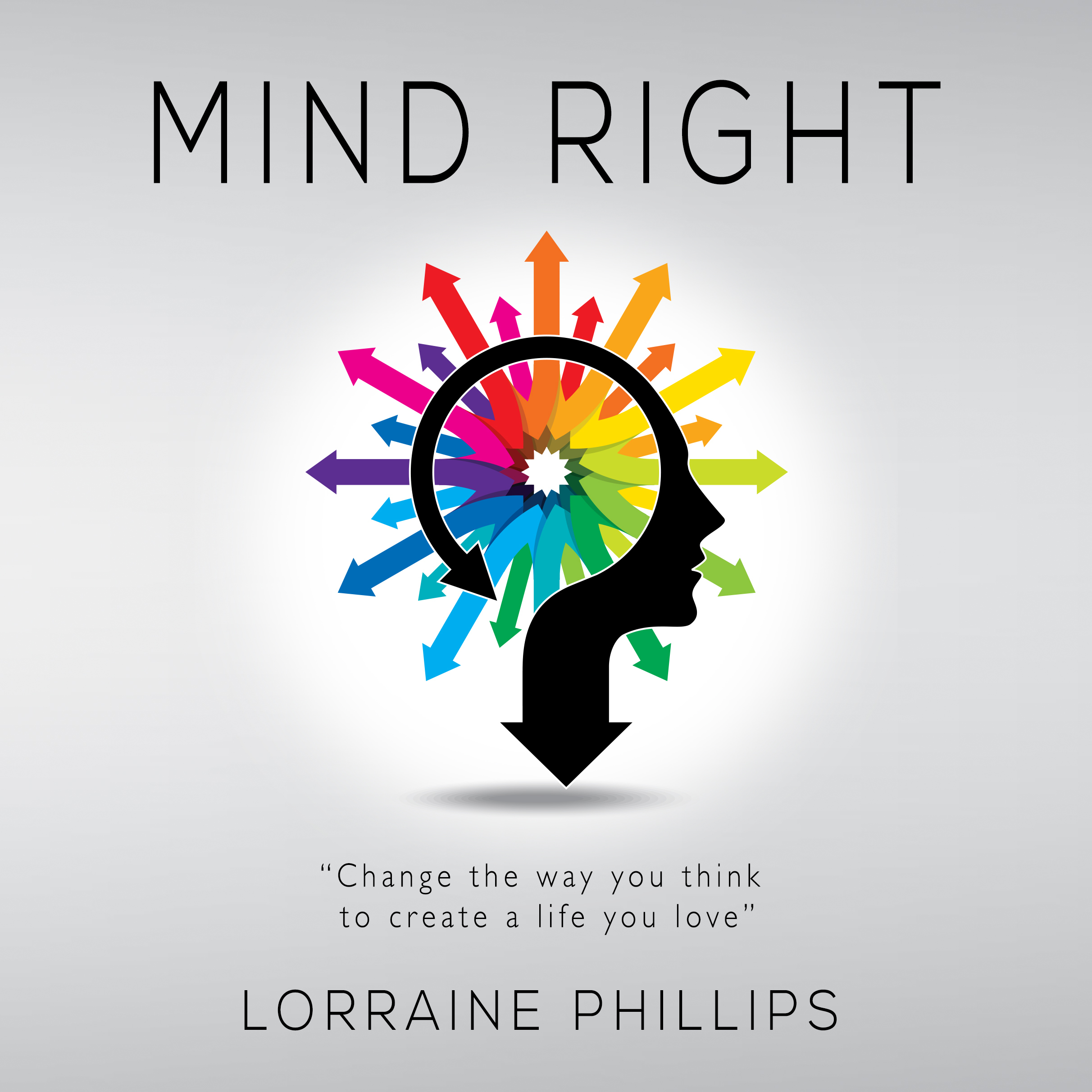 Printable Mind Right: Change the Way You Think to Create a Life You Love Audiobook Cover Art
