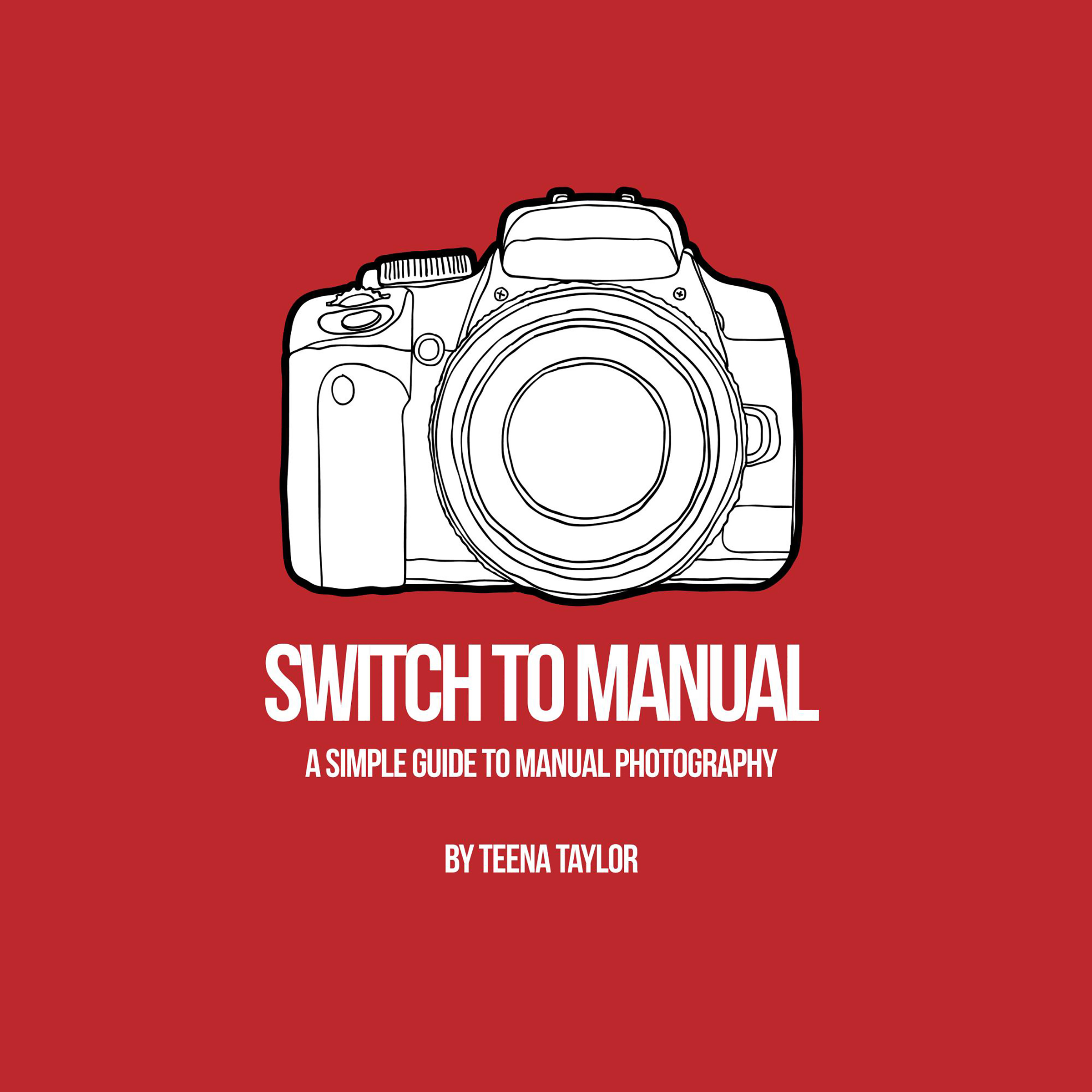 Printable Switch To Manual: A Beginners Guide to Photography Audiobook Cover Art