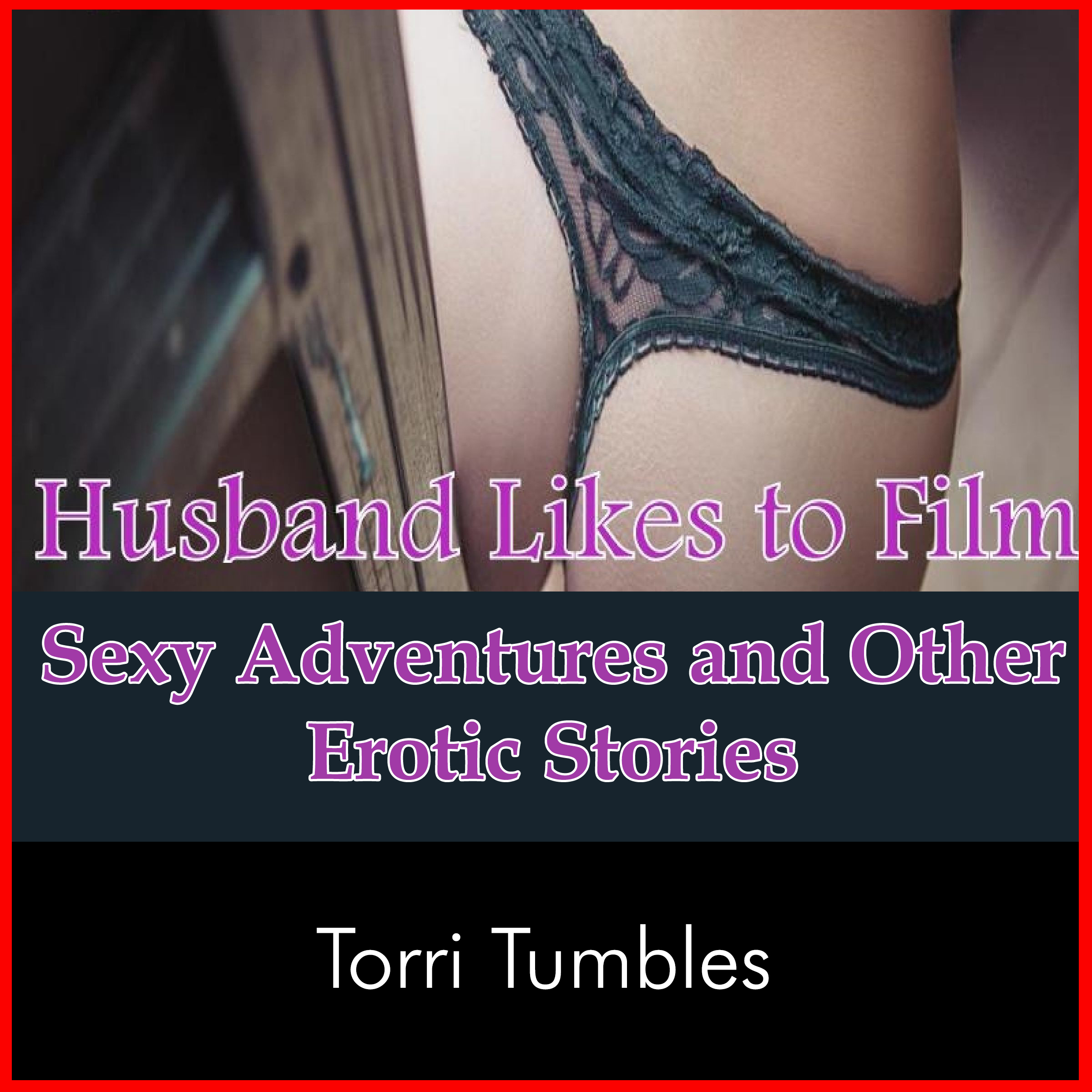 Printable Husband Likes to Film Sexy Adventures and Other Erotic Stories Audiobook Cover Art