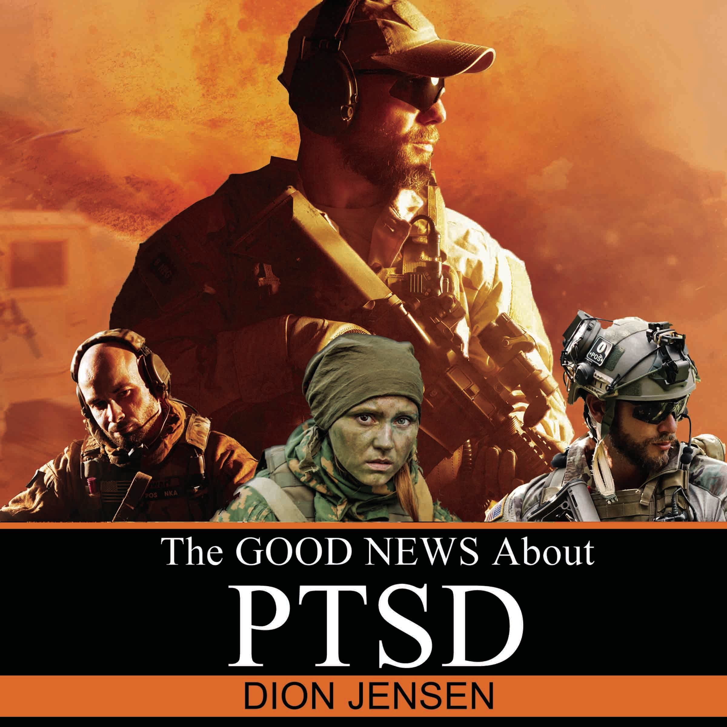 Printable The Good News About PTSD Audiobook Cover Art