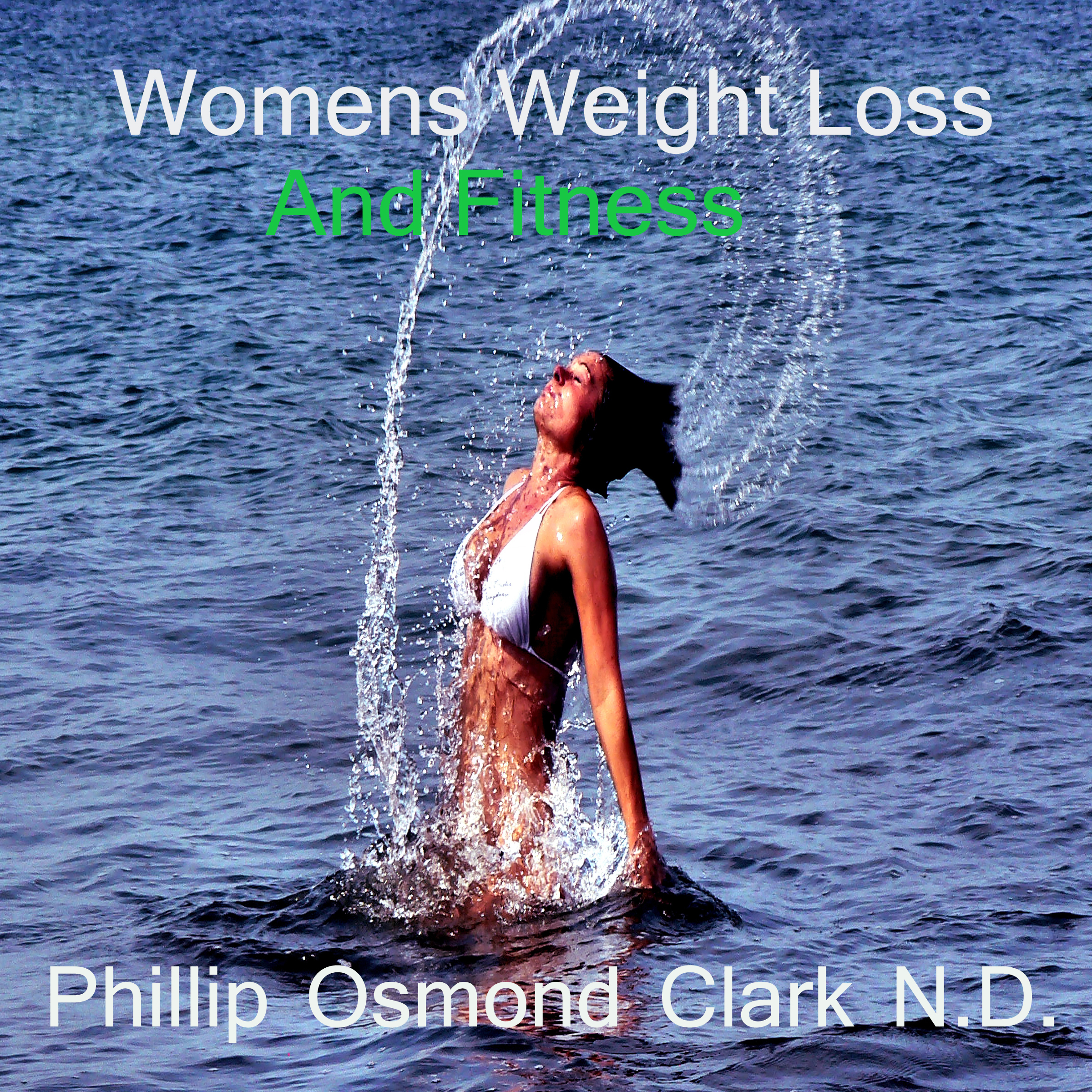 Printable Women's Weight Loss and Fitness Audiobook Cover Art