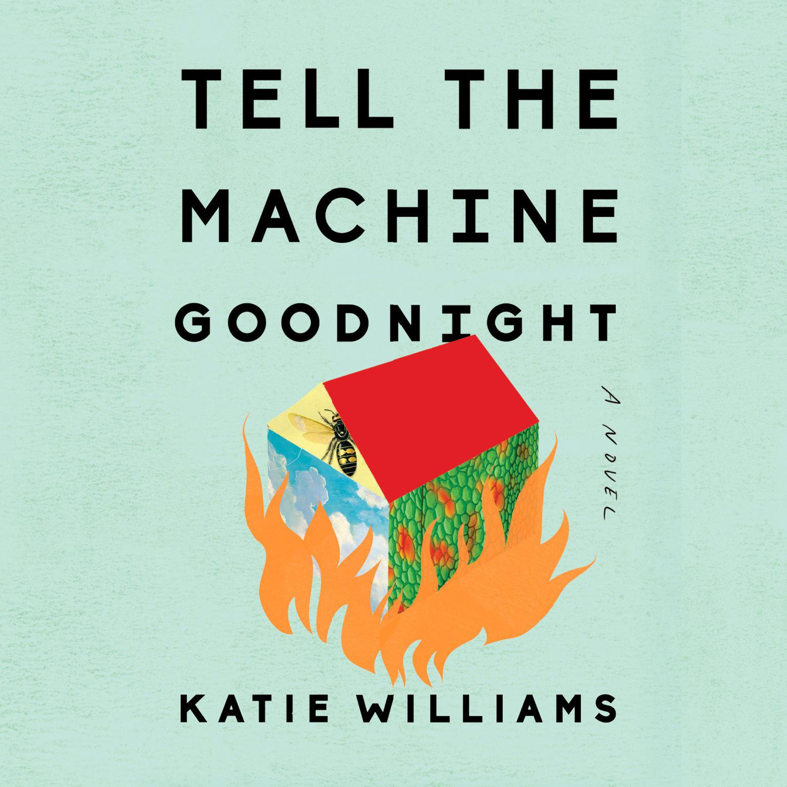 Printable Tell the Machine Goodnight: A Novel Audiobook Cover Art