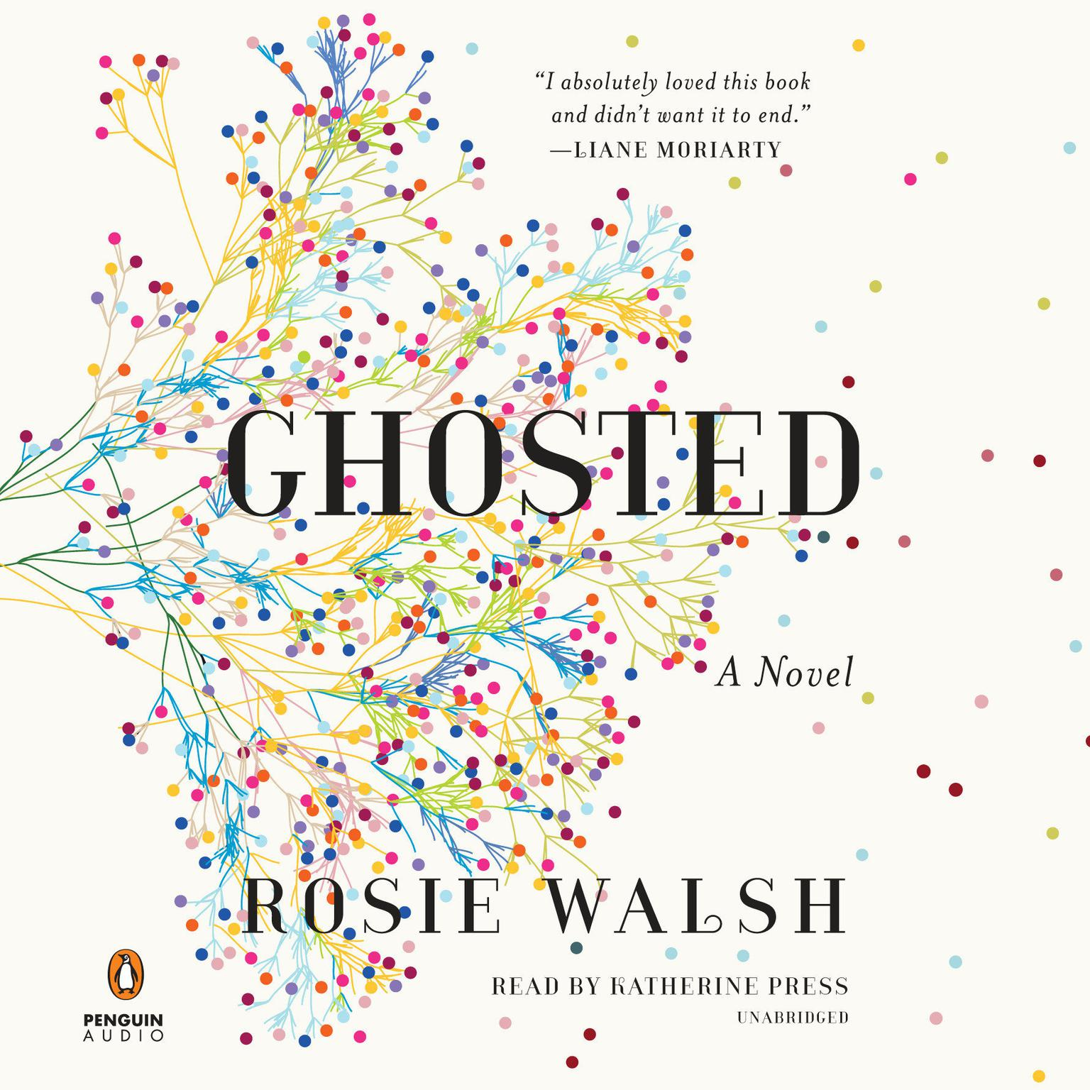 Printable Ghosted: A Novel Audiobook Cover Art
