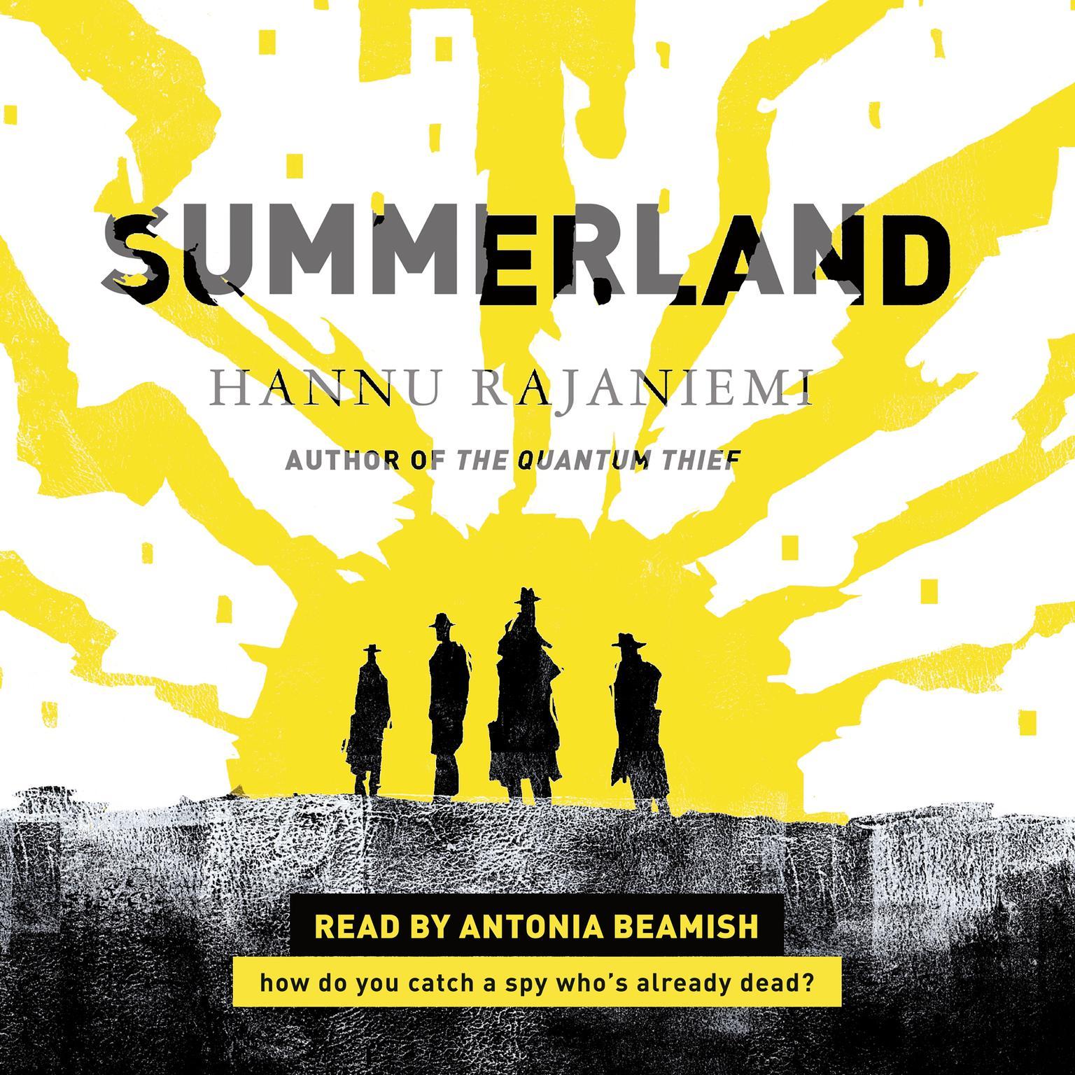 Printable Summerland Audiobook Cover Art