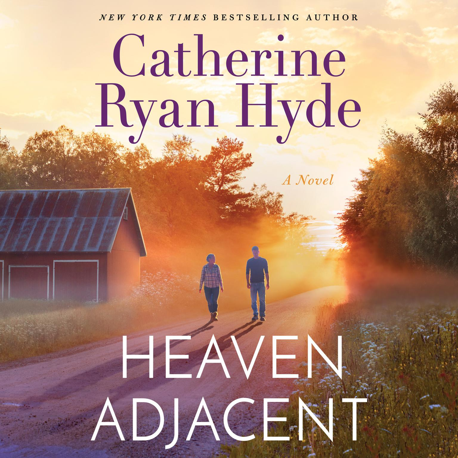 Printable Heaven Adjacent Audiobook Cover Art