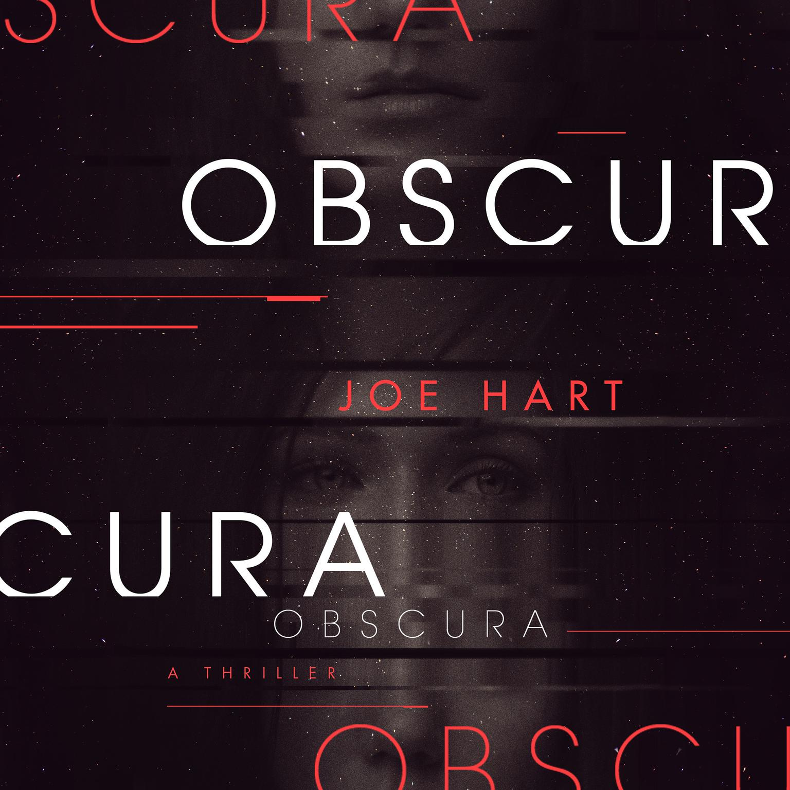 Printable Obscura Audiobook Cover Art
