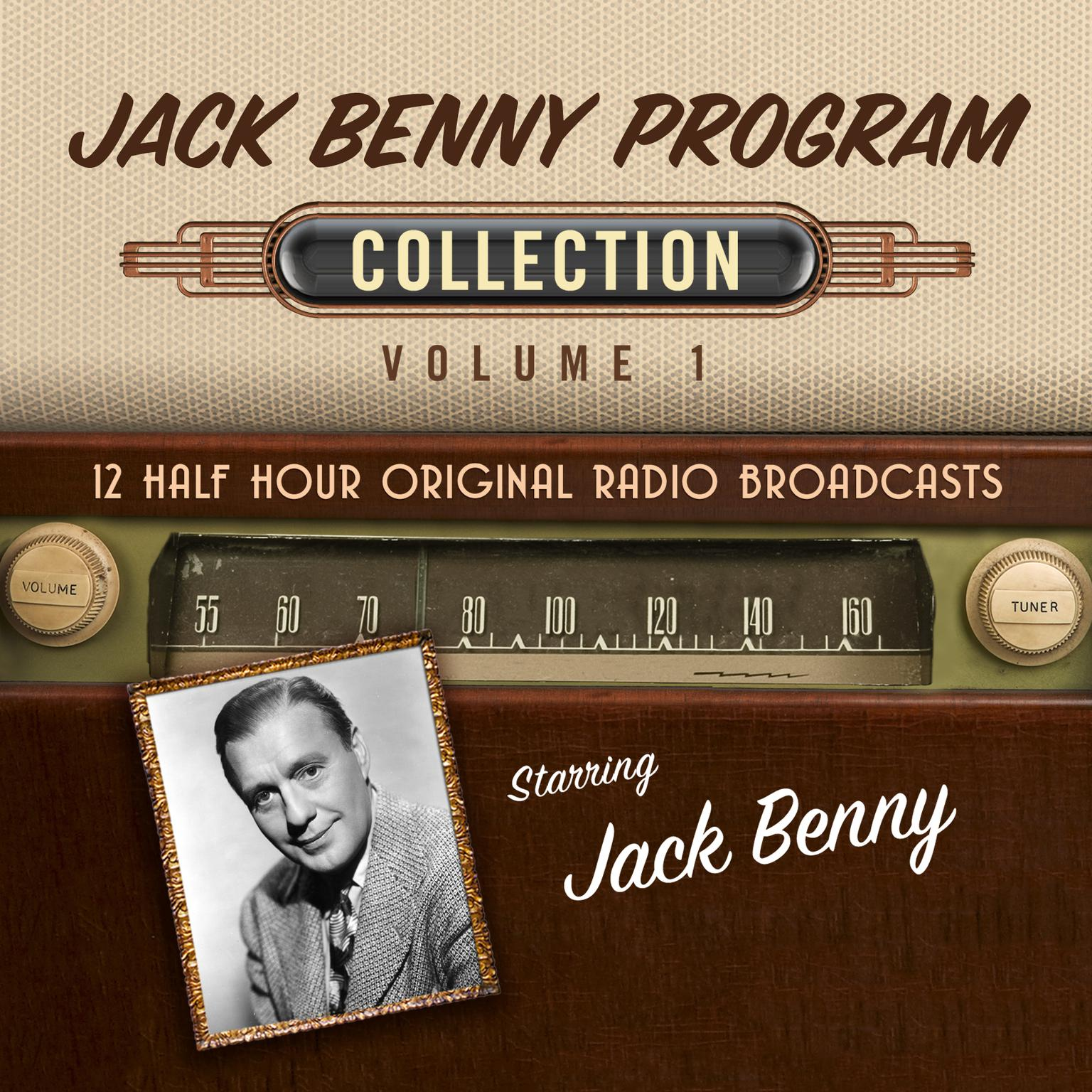 Printable The Jack Benny Program, Collection 1 Audiobook Cover Art