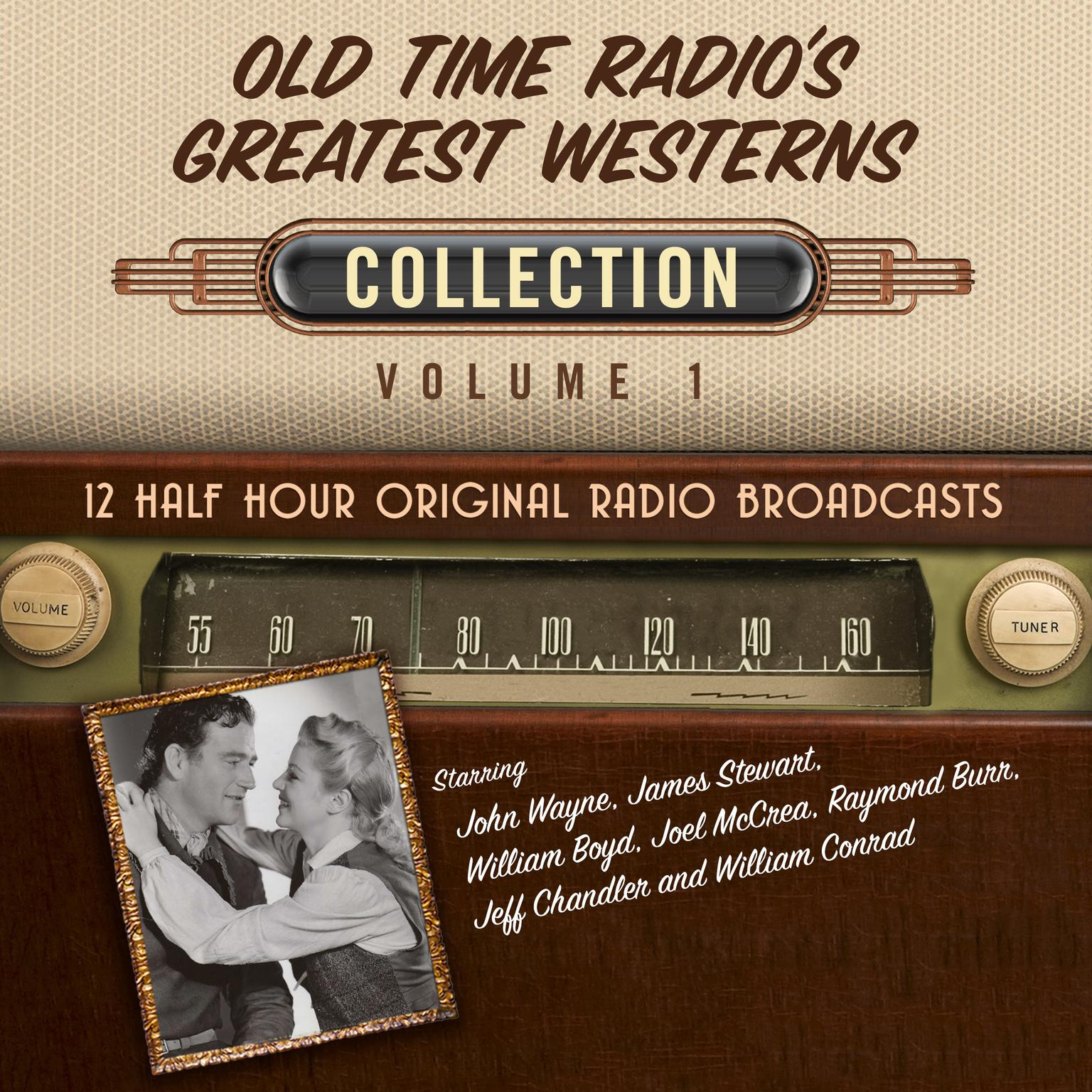 Printable Old Time Radio's Greatest Westerns, Collection 1 Audiobook Cover Art