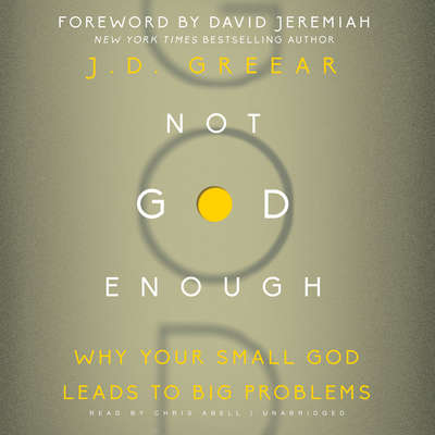 Not God Enough: Why Your Small God Leads to Big Problems Audiobook, by J. D. Greear