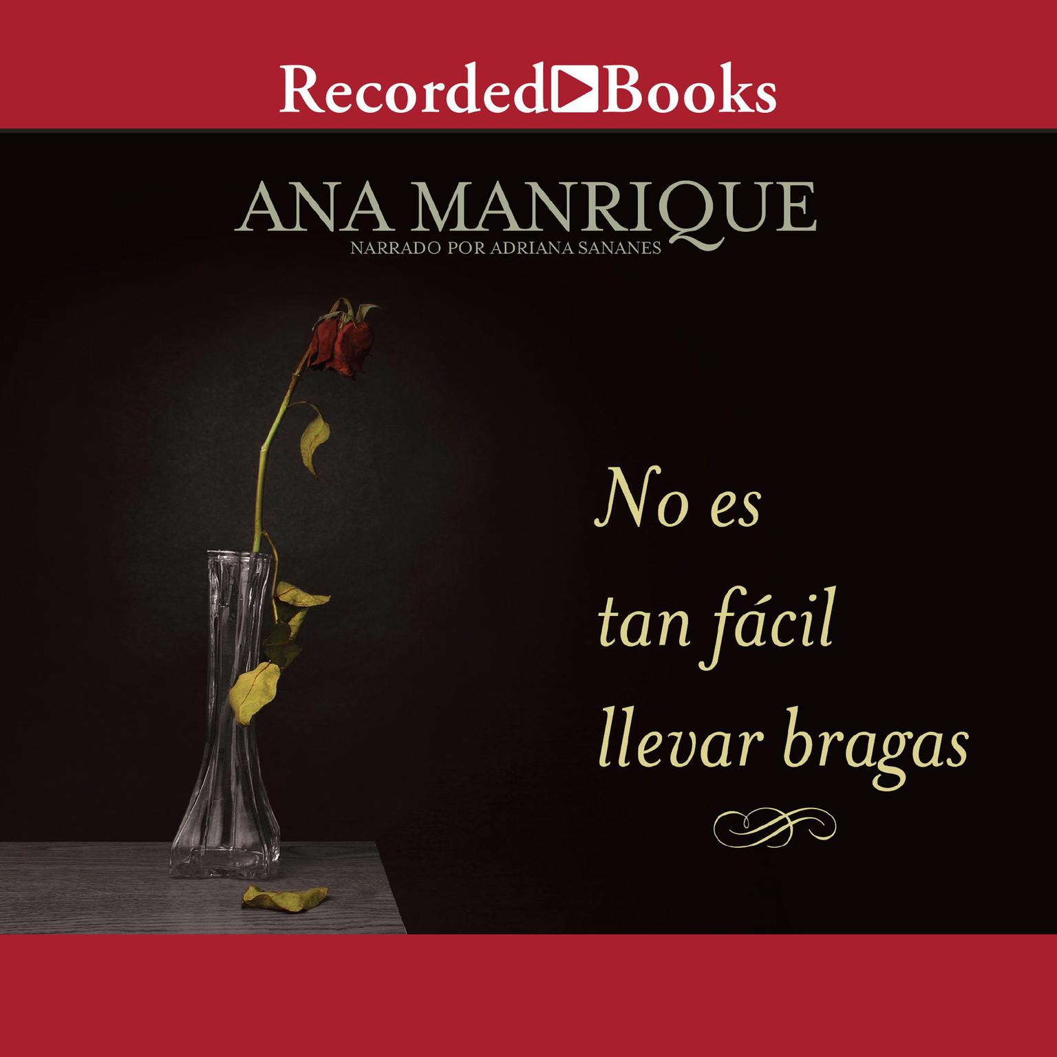 Printable No es tan facil llevar bragas Audiobook Cover Art