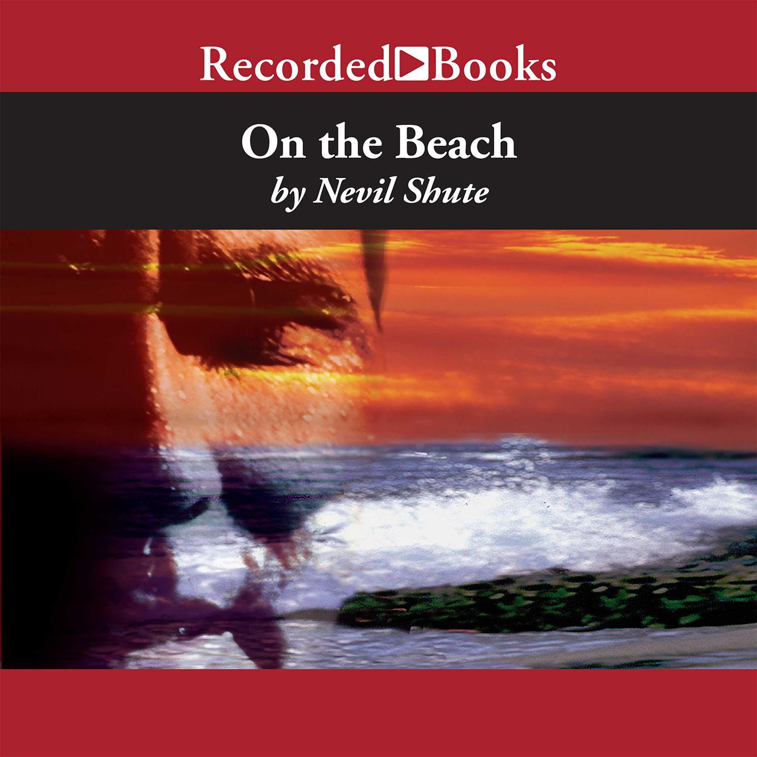 Printable On the Beach Audiobook Cover Art