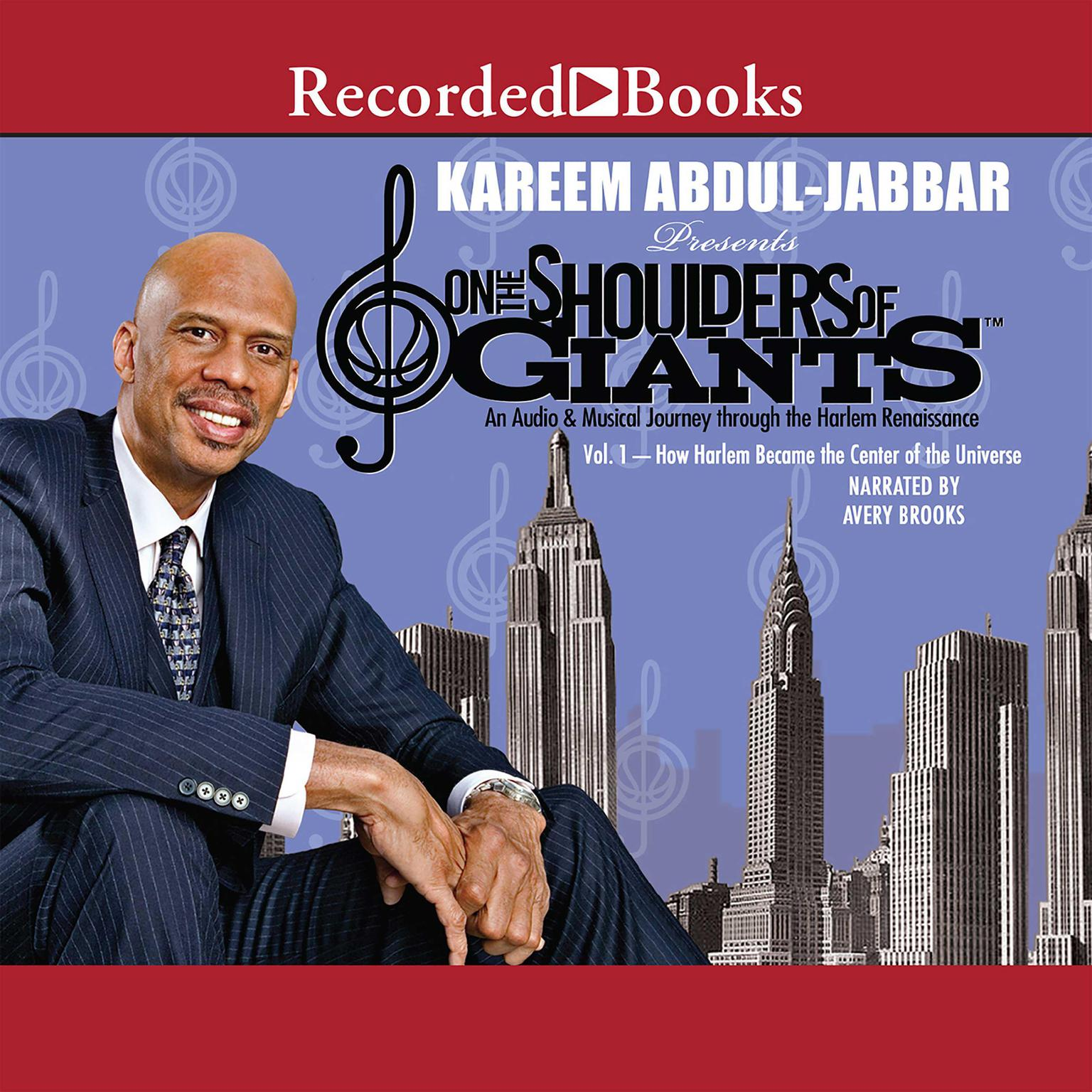 Printable On the Shoulders of Giants, Vol 1: How Harlem Became the Center of the Universe Audiobook Cover Art