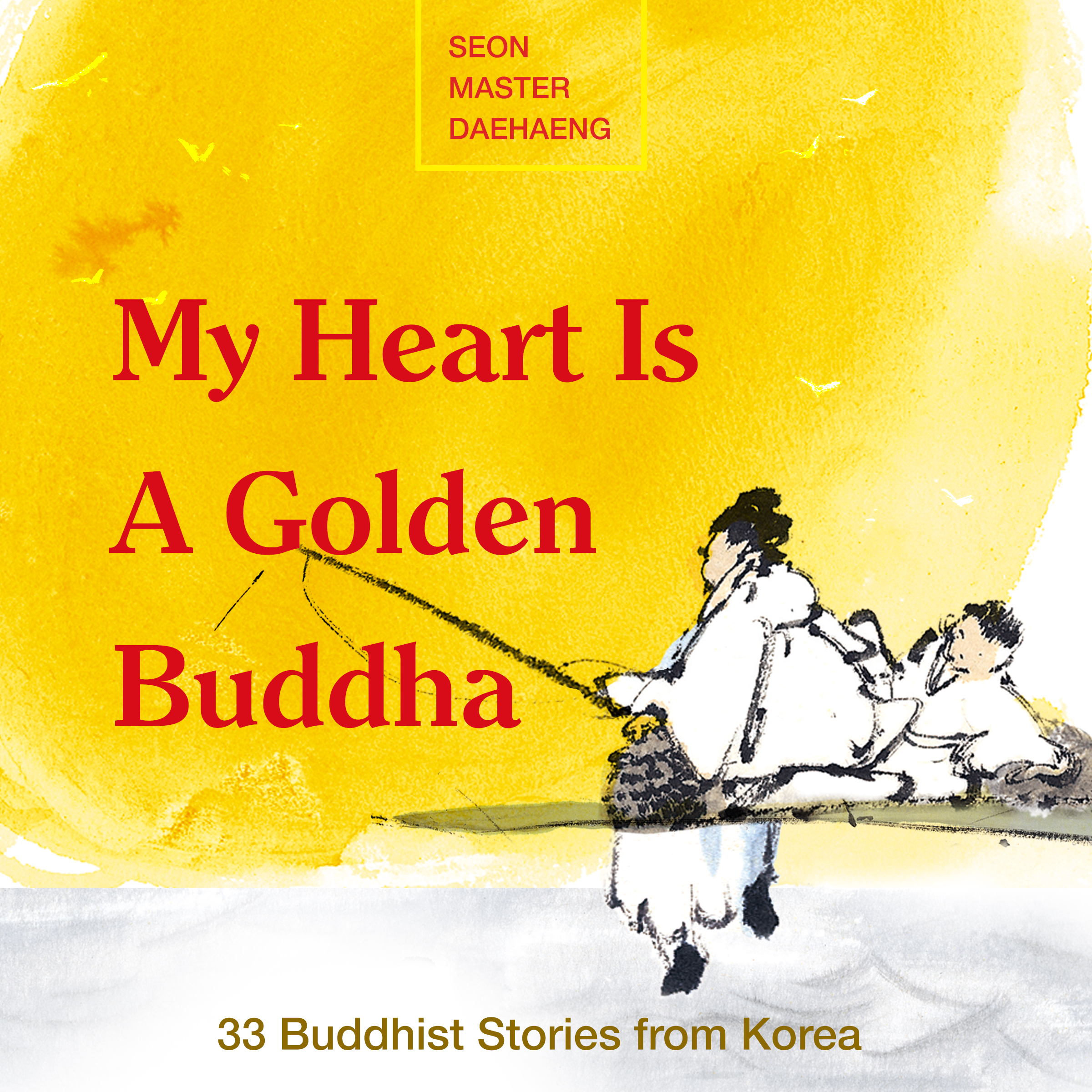 Printable My Heart is a Golden Buddha Audiobook Cover Art