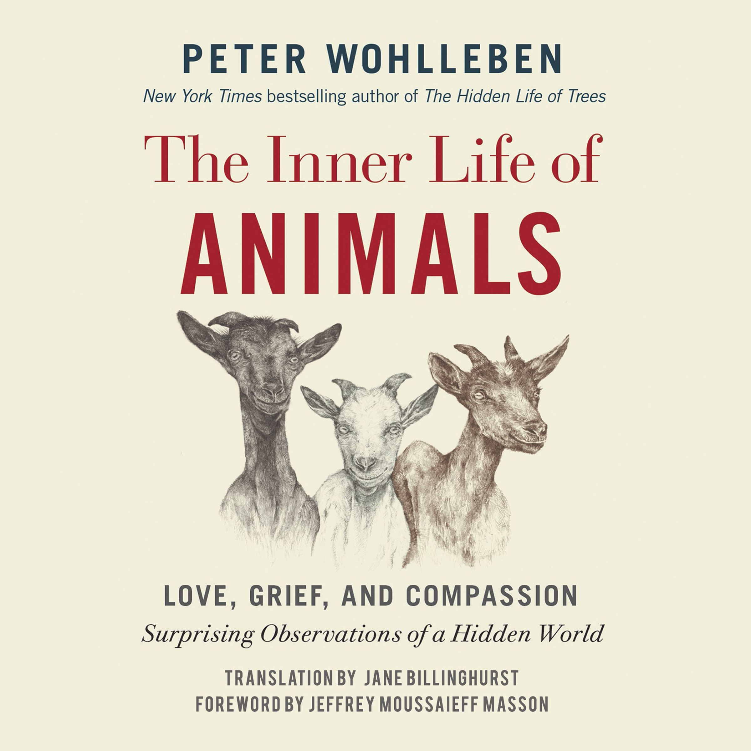 Printable The Inner Life of Animals: Love, Grief, and Compassion: Surprising Observations of a Hidden World Audiobook Cover Art