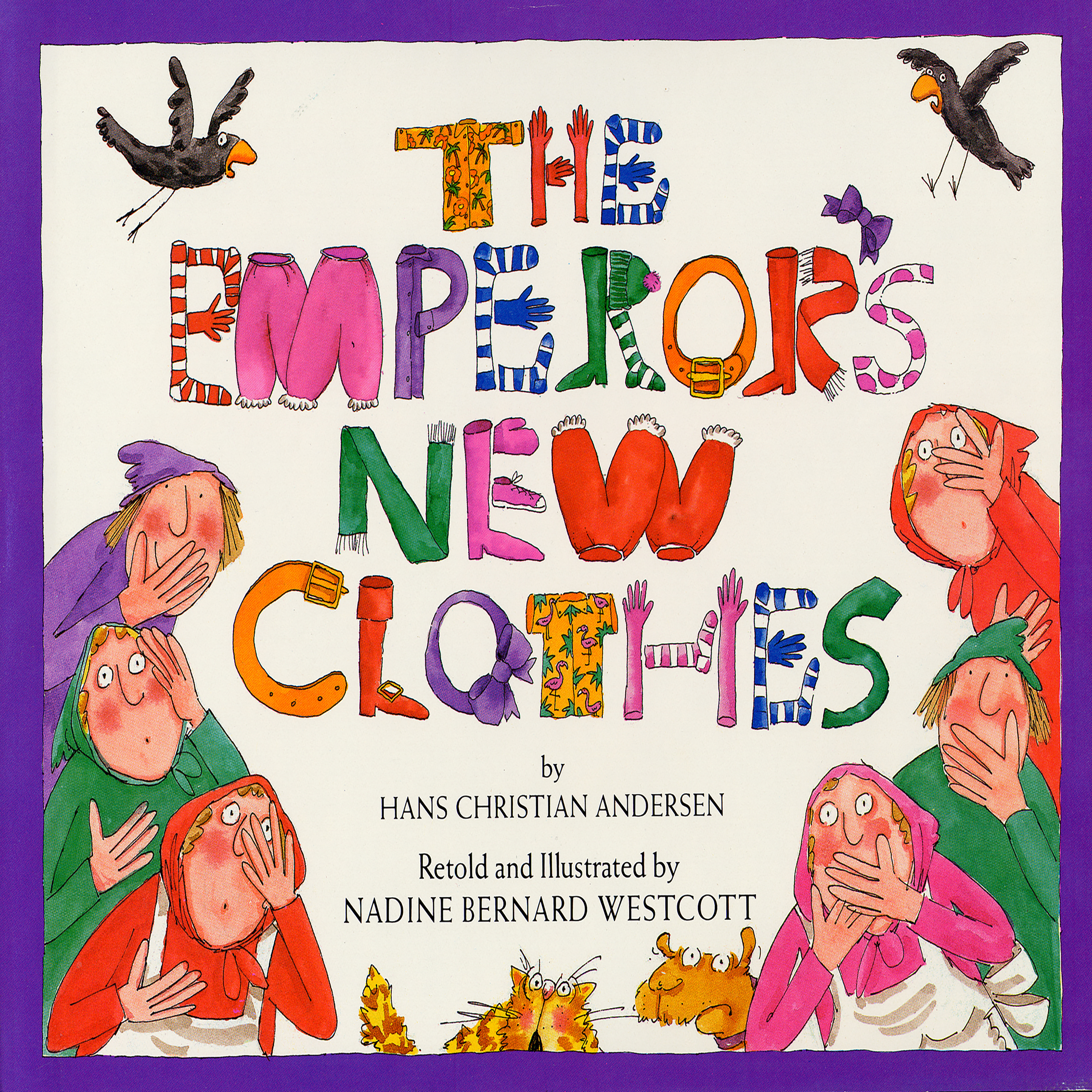 Printable Emperor's New Clothes Audiobook Cover Art