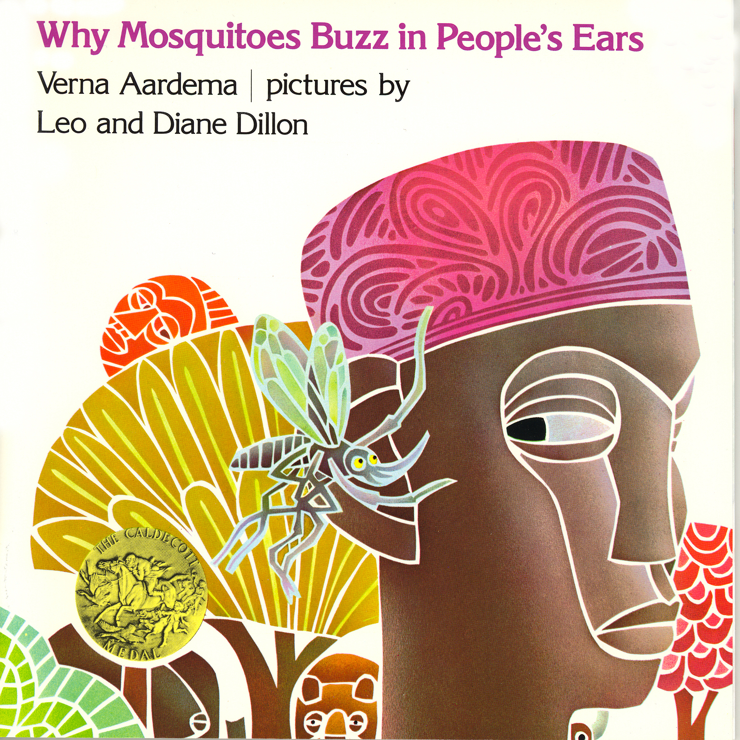 Printable Why Mosquitoes Buzz In People's Ears Audiobook Cover Art
