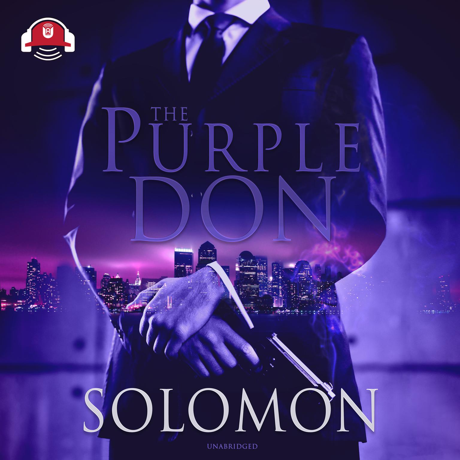 Printable The Purple Don Audiobook Cover Art
