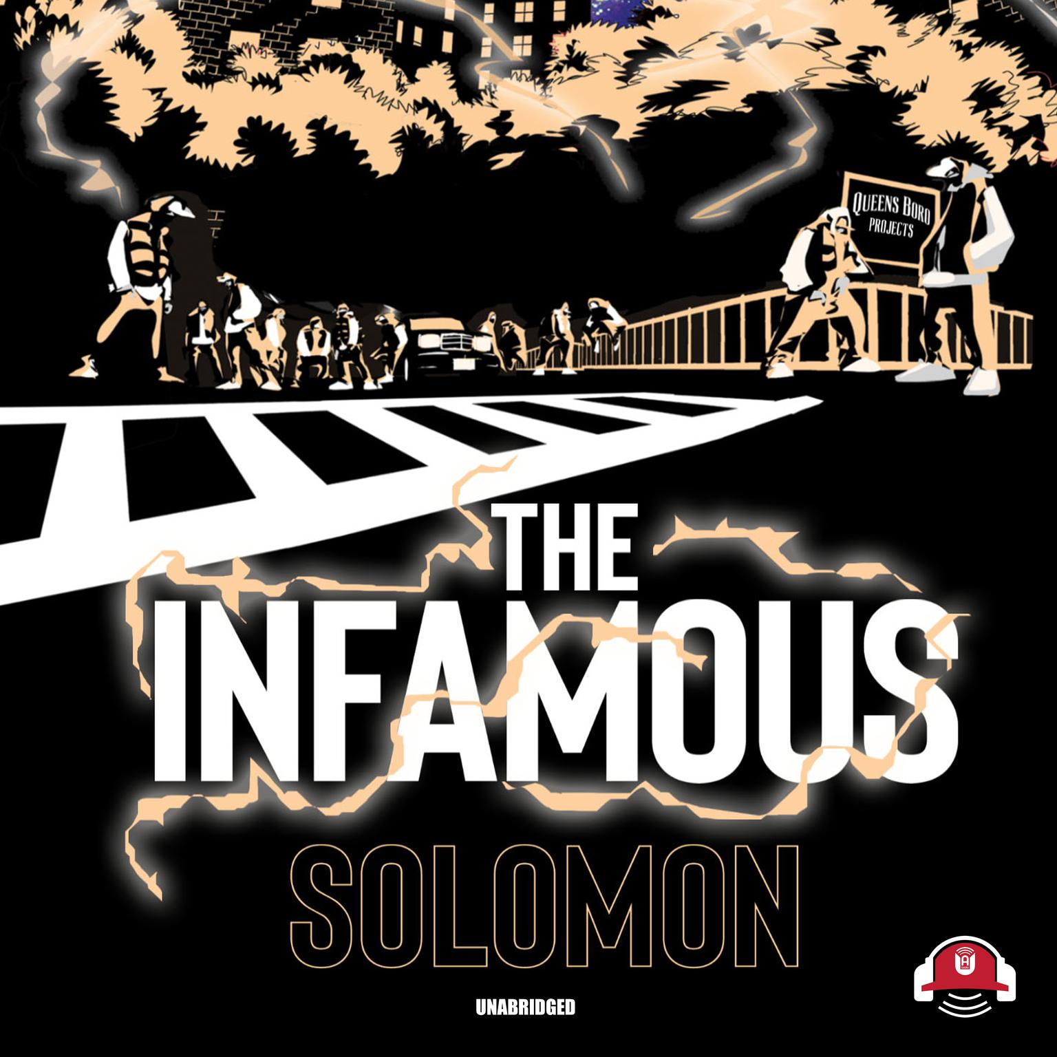Printable The Infamous Audiobook Cover Art