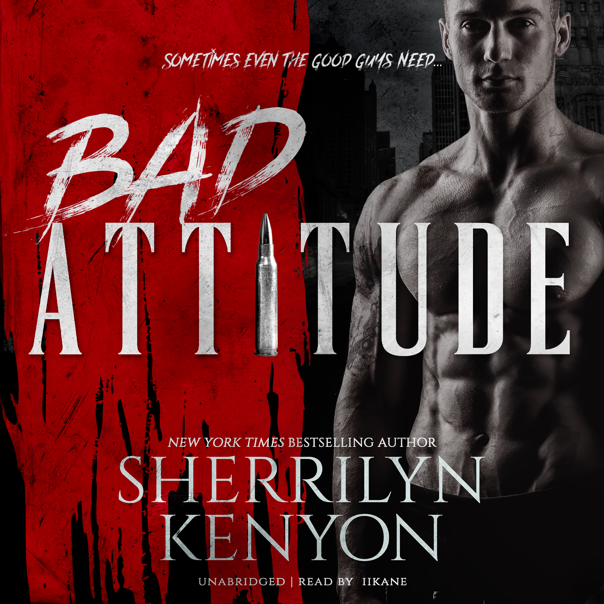 Printable Bad Attitude Audiobook Cover Art