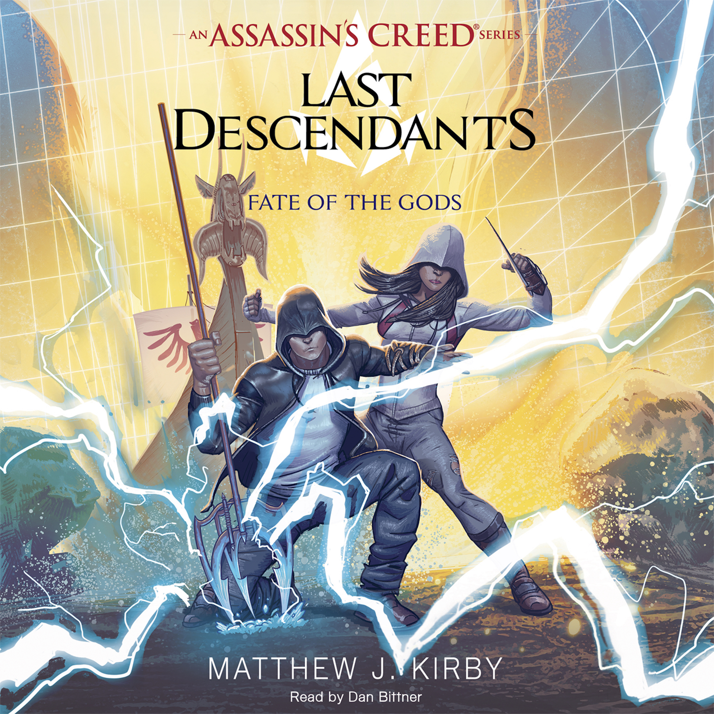 Printable Fate of the Gods (Last Descendants: An Assassin's Creed Novel Series, Book 3) Audiobook Cover Art