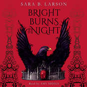 Bright Burns the Night Audiobook, by Sara B. Larson