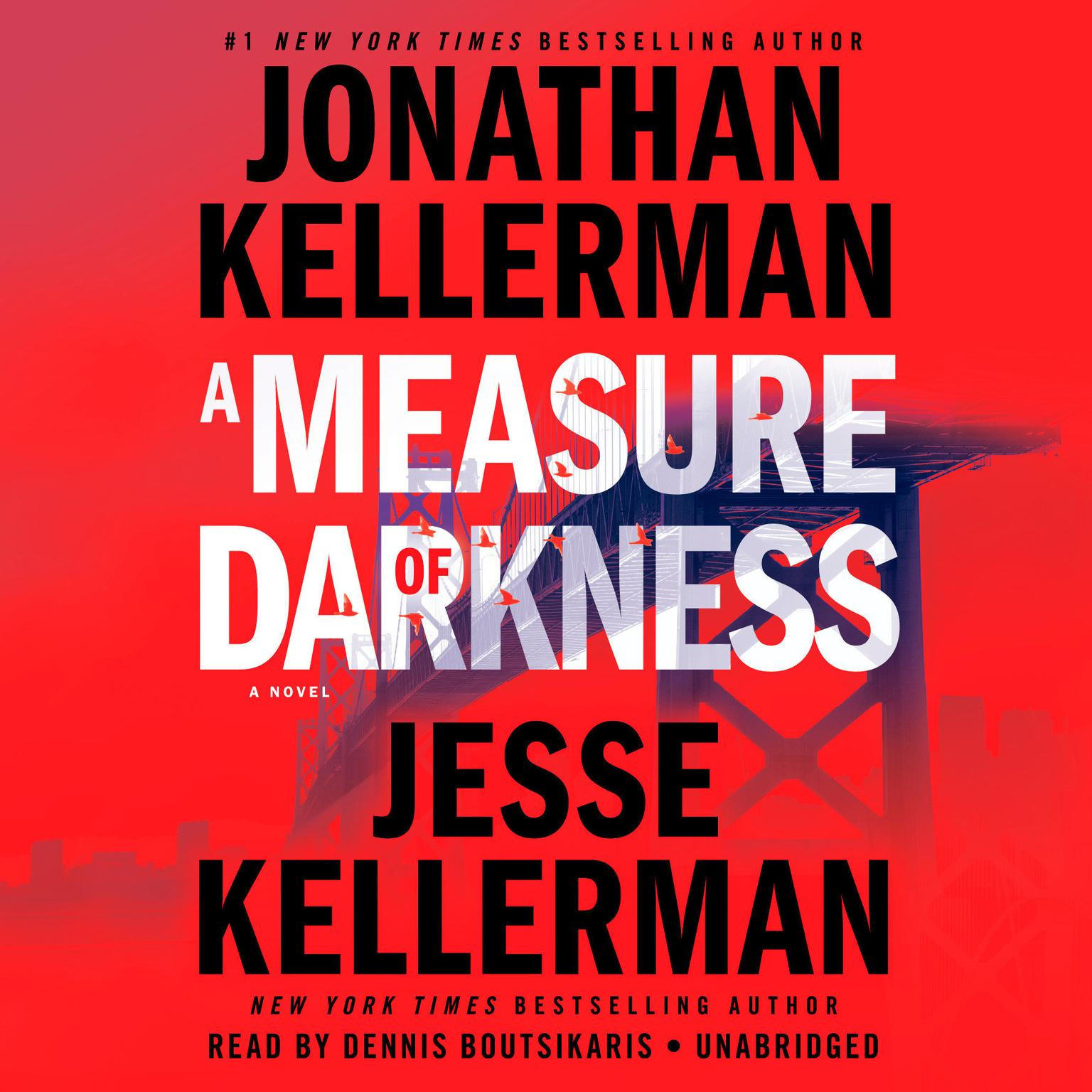 Printable A Measure of Darkness: A Novel Audiobook Cover Art