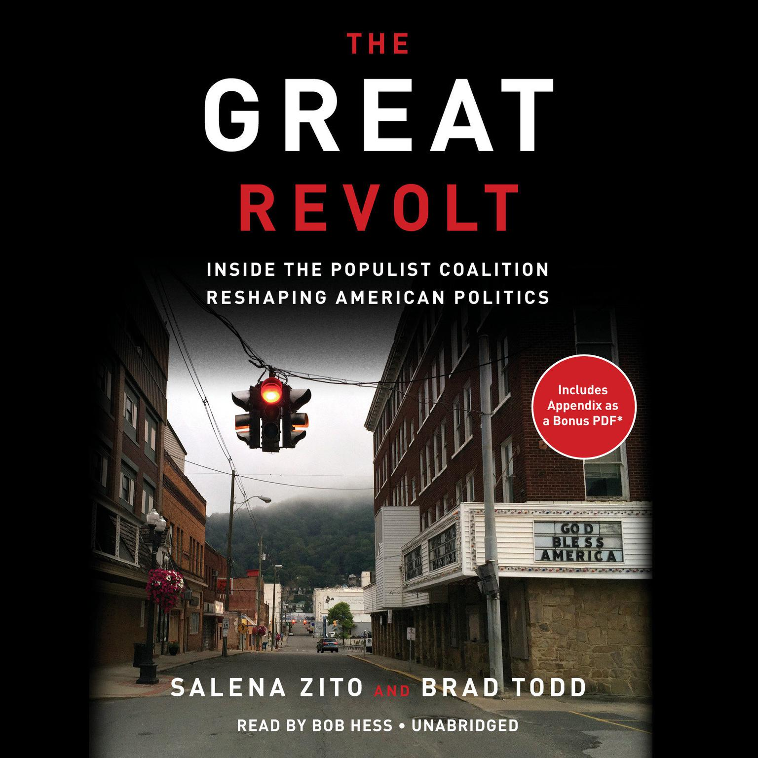 Printable The Great Revolt: Inside the Populist Coalition Reshaping American Politics Audiobook Cover Art