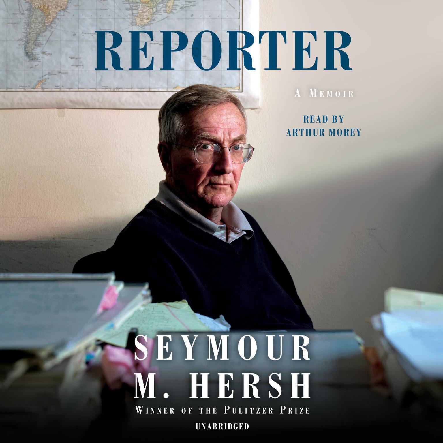 Printable Reporter: A Memoir Audiobook Cover Art
