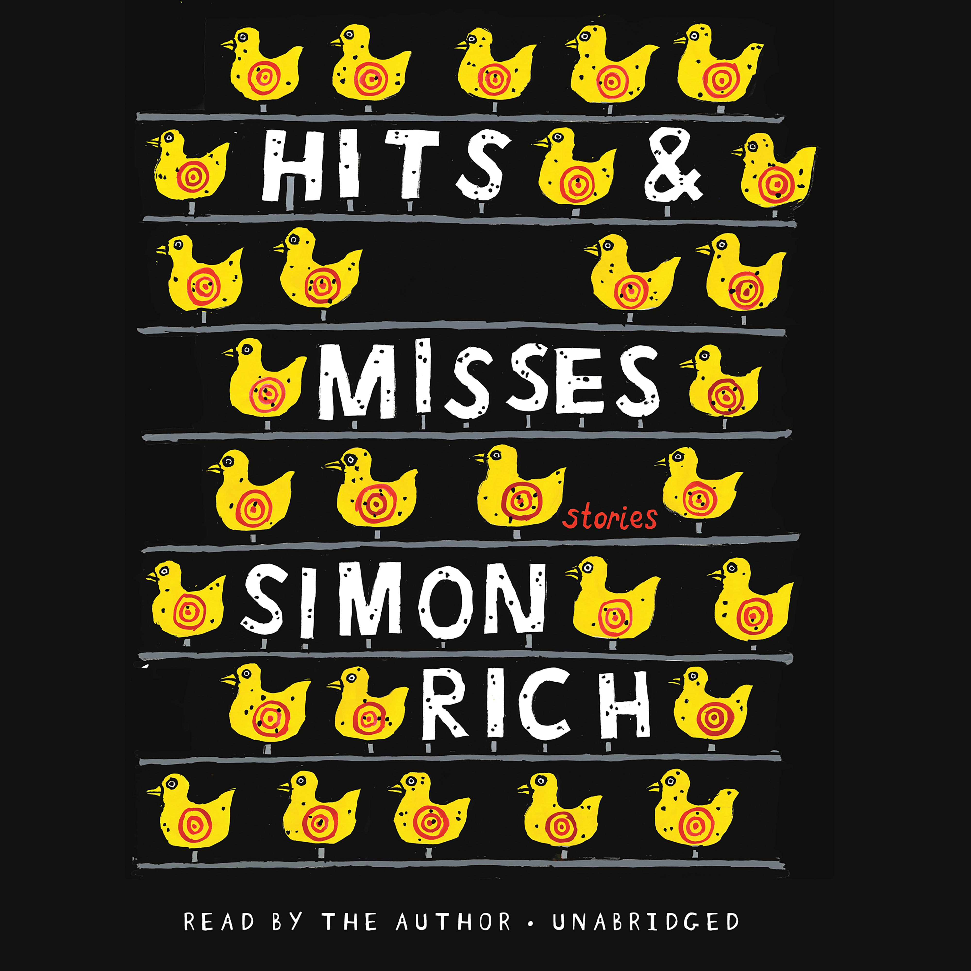 Printable Hits and Misses: Stories Audiobook Cover Art