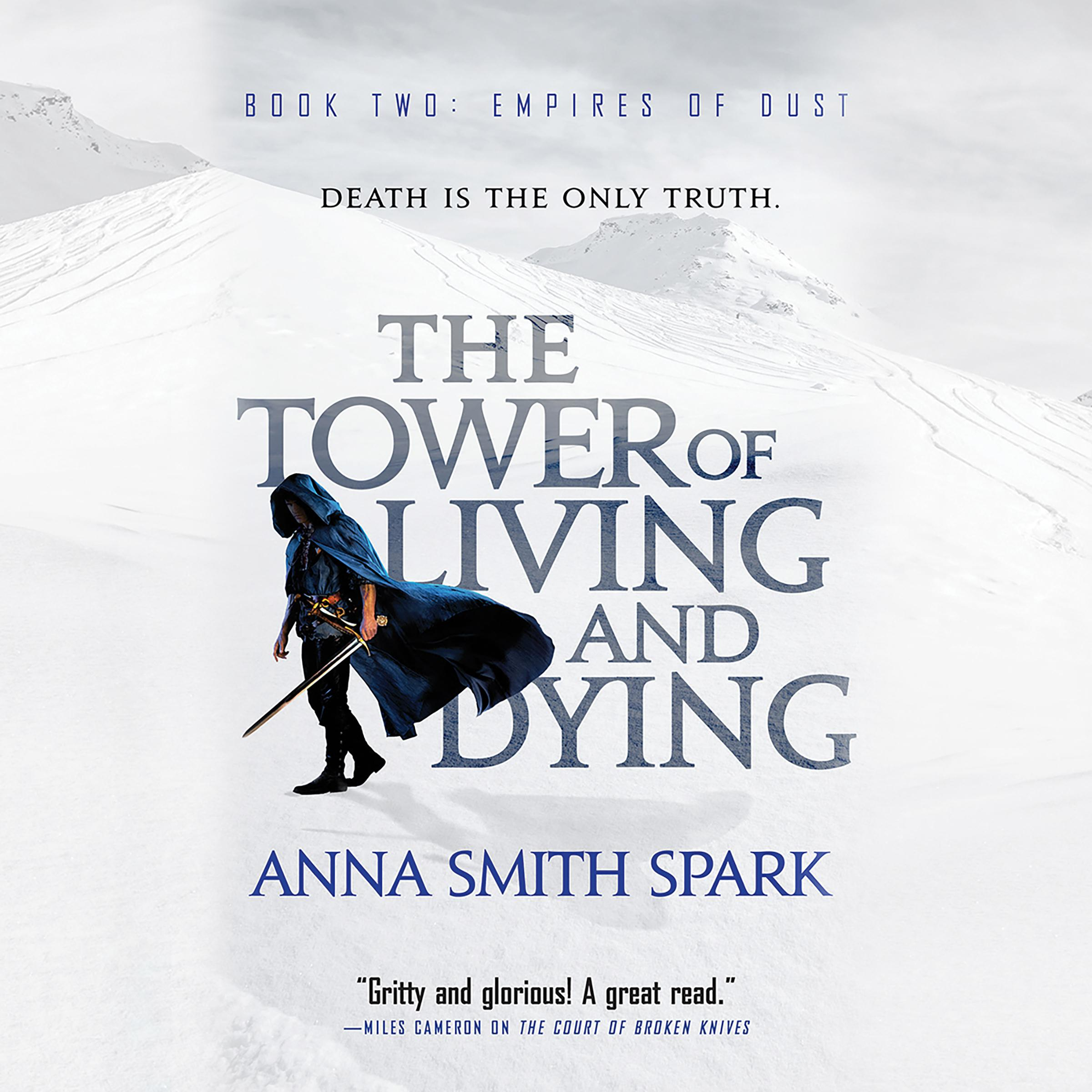Printable The Tower of Living and Dying Audiobook Cover Art